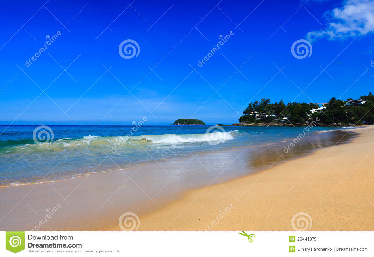 Beautiful Summer Beach Royalty Free Stock Photo - Image: 28441375