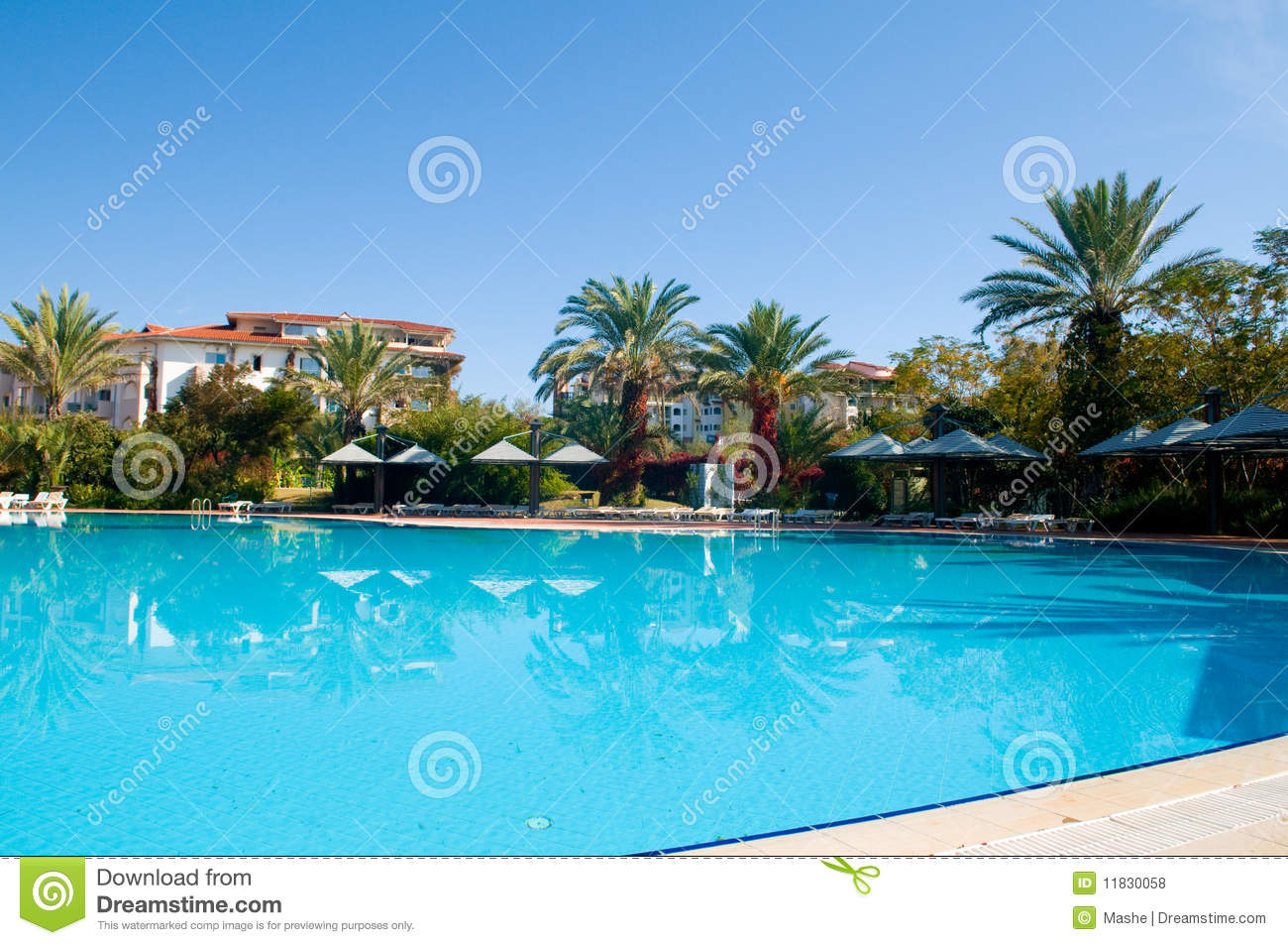 Beautiful Swimming Pool Royalty Free Stock Photos Image 11830058