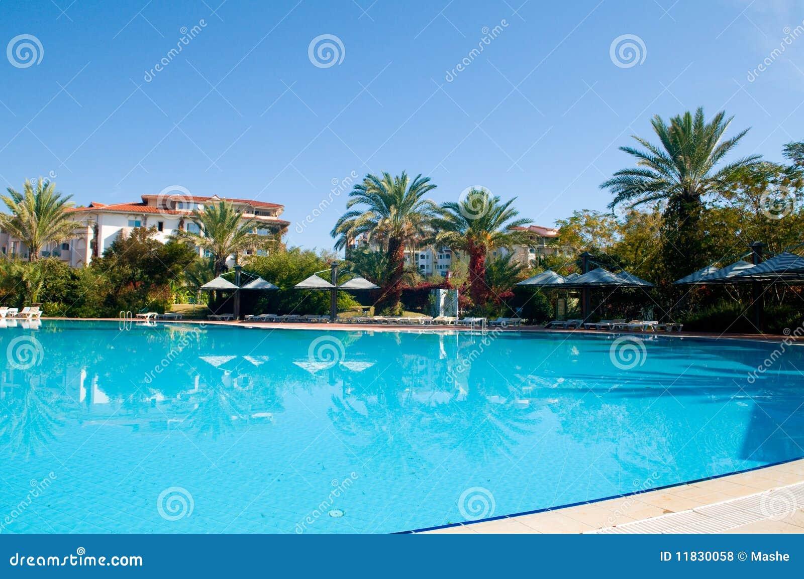 Beautiful Swimming Pool Royalty Free Stock Photos Image