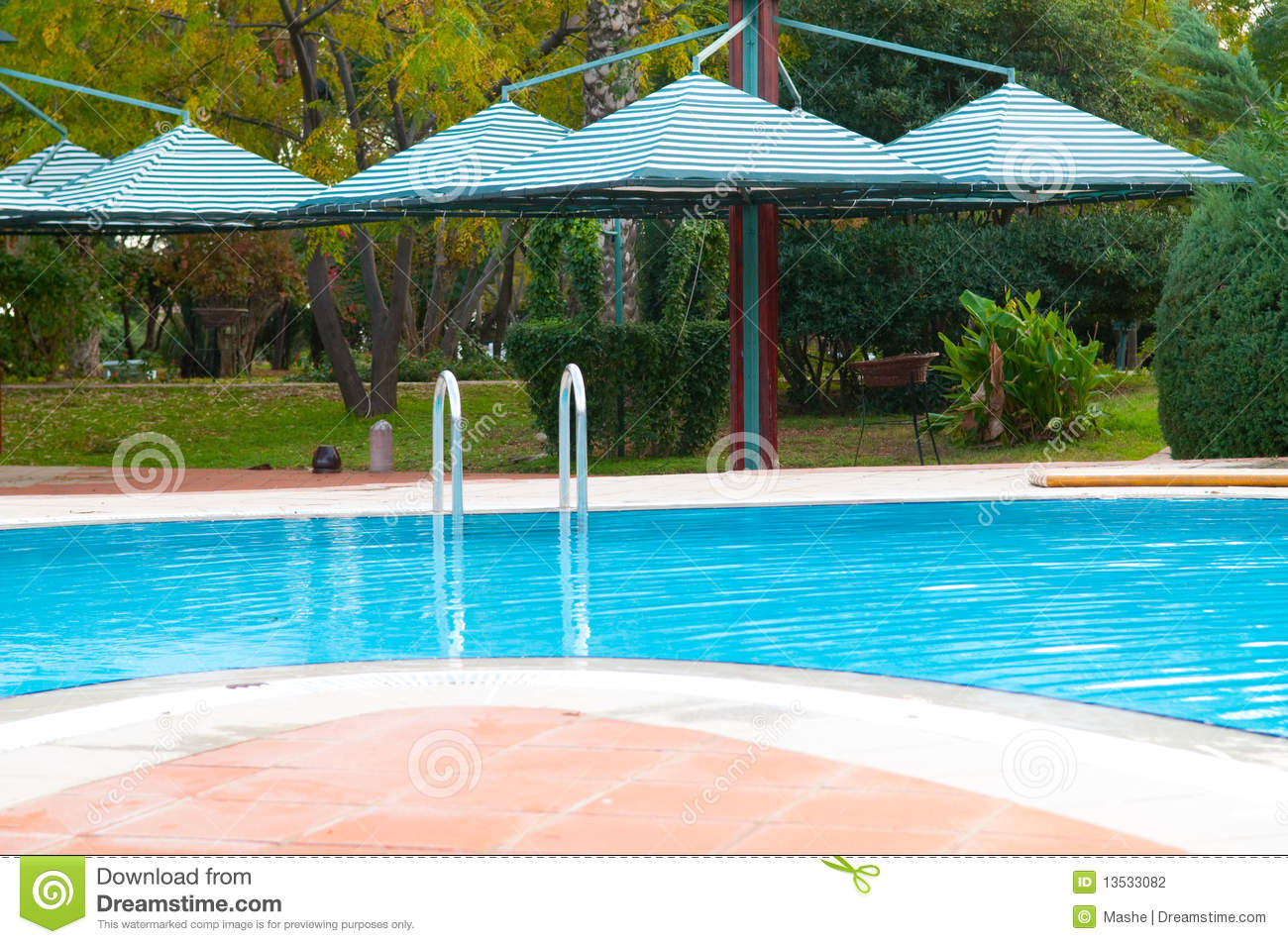 Beautiful swimming pool stock photography image 13533082 Swimming pool beautiful