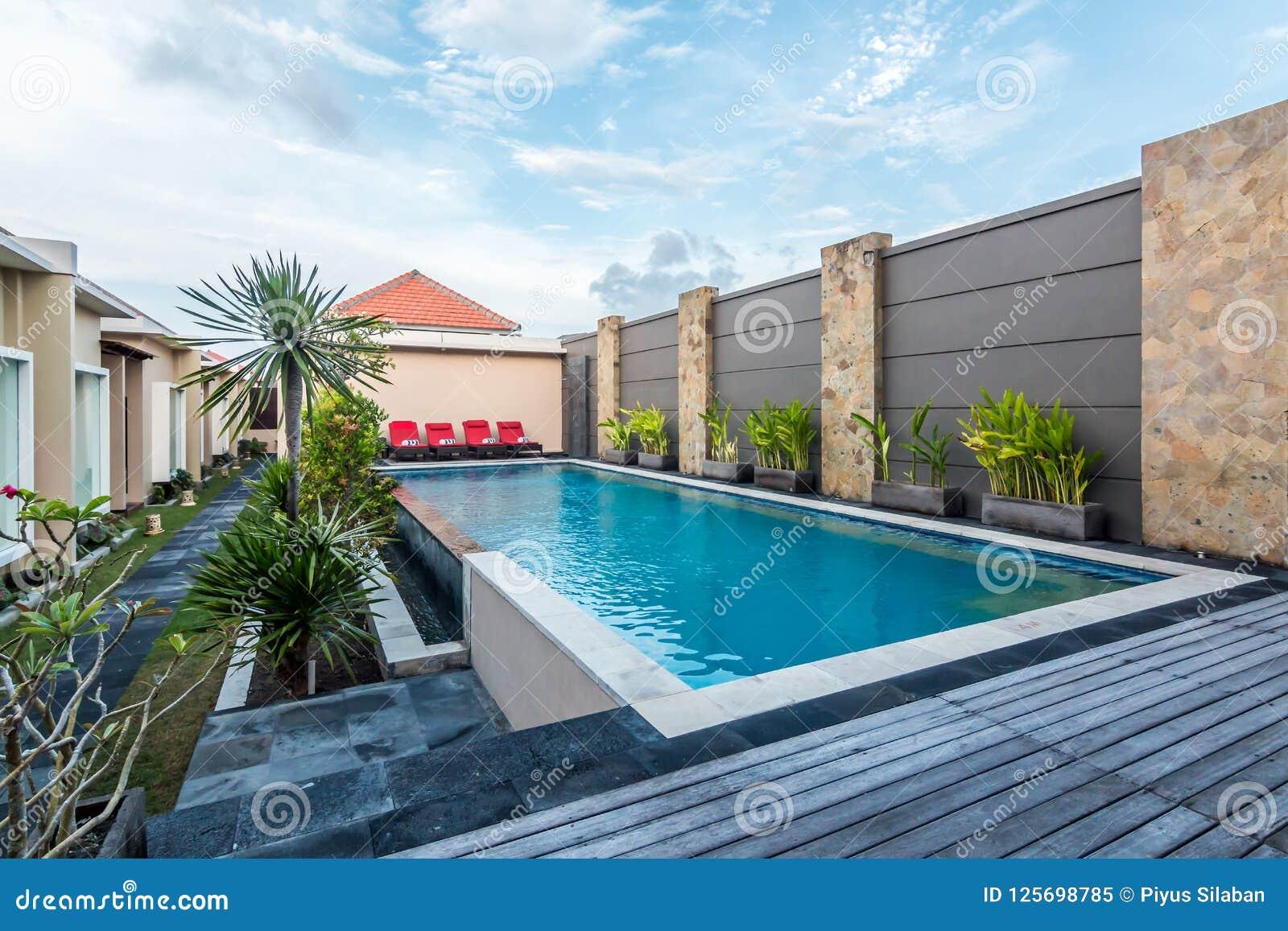 Beautiful swimming pool at cheap hotel stock image image - Cheap hotels in aberdeen with swimming pool ...