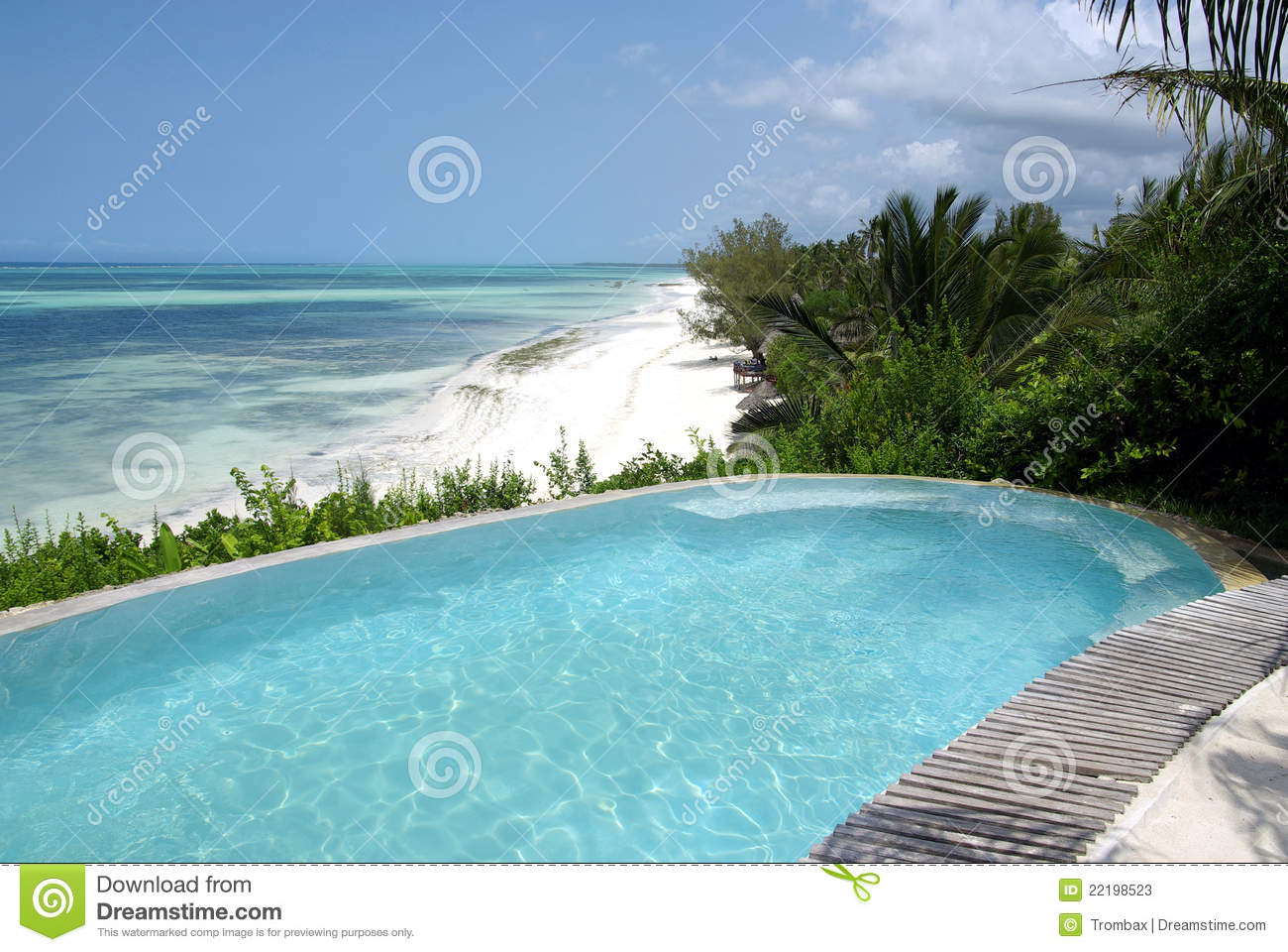 Beautiful swimming pool in resort stock photos image Swimming pool beautiful