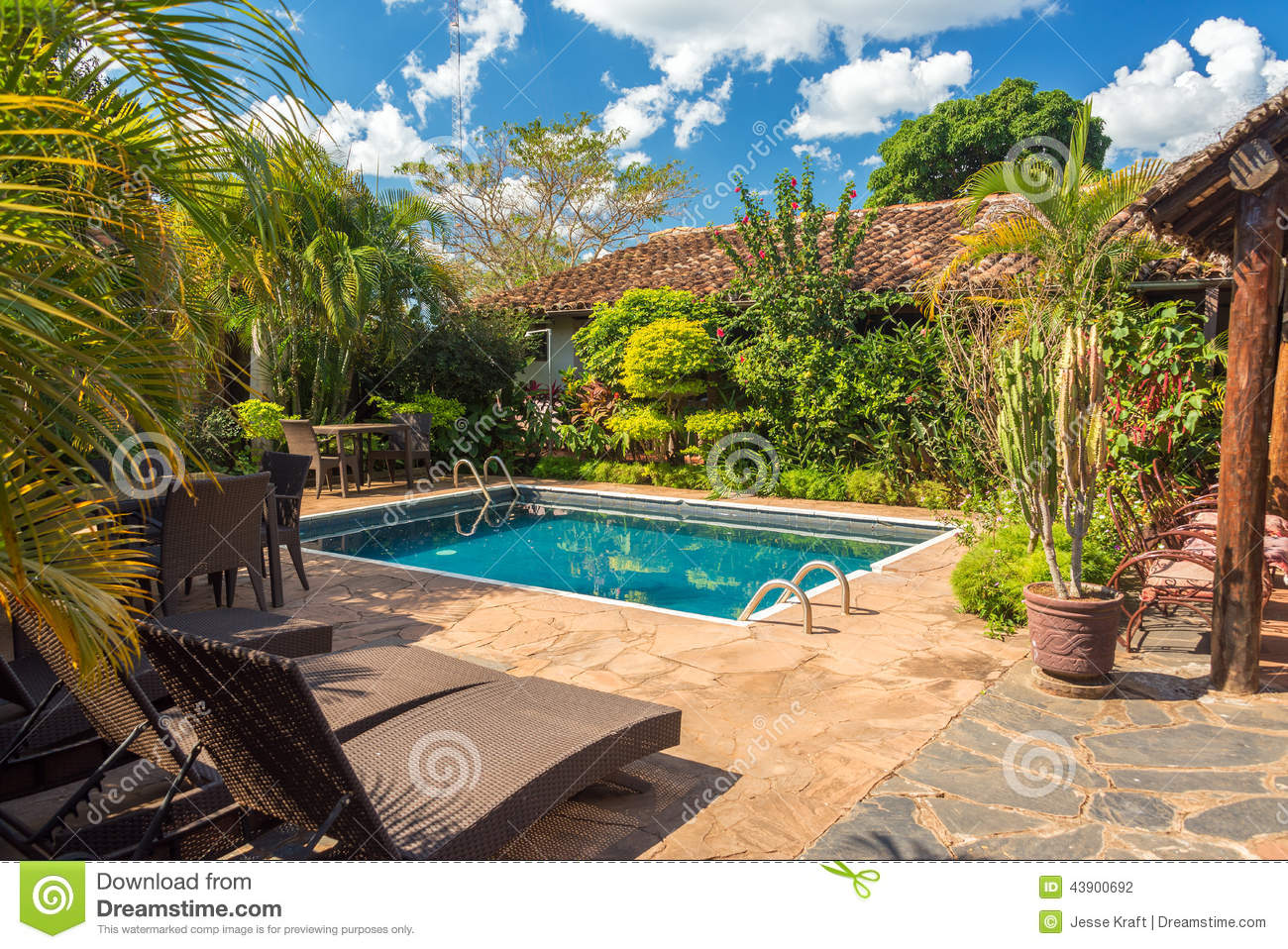 Beautiful swimming pool stock photo image 43900692 Swimming pool beautiful