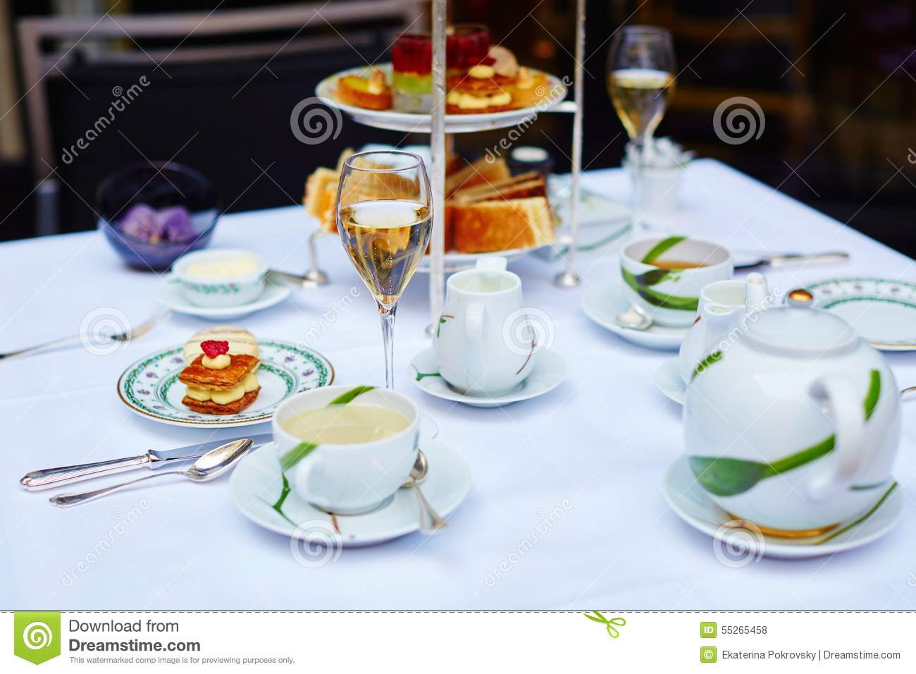High tea fancy tea cup stock image. Image of africa, colorful - 53076571