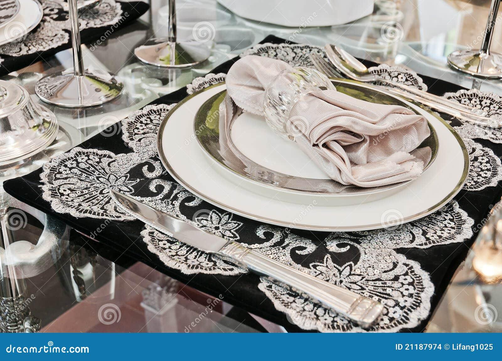 Beautiful tableware & Beautiful tableware stock photo. Image of drink fork - 21187974