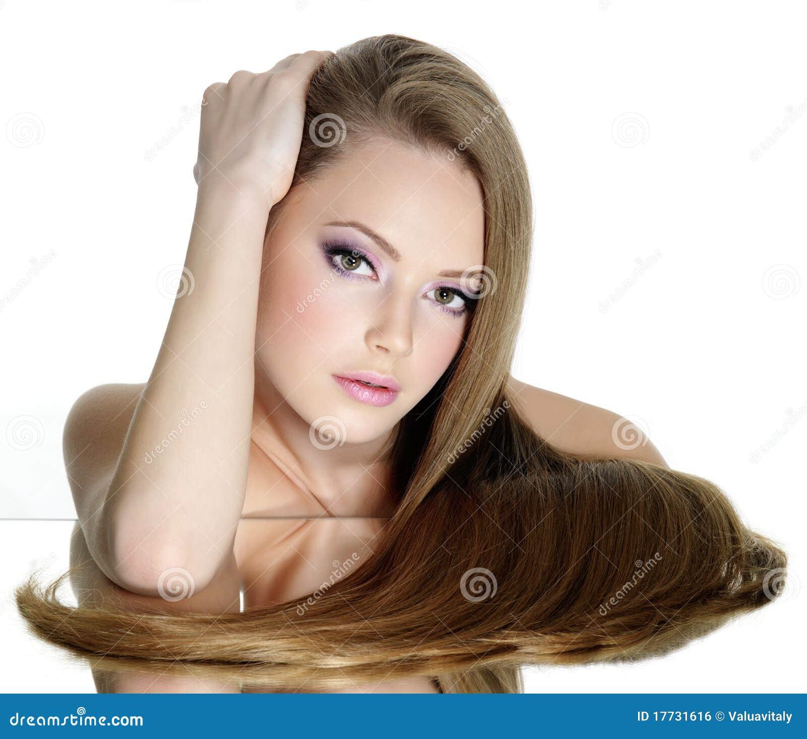 333 brunette teen think