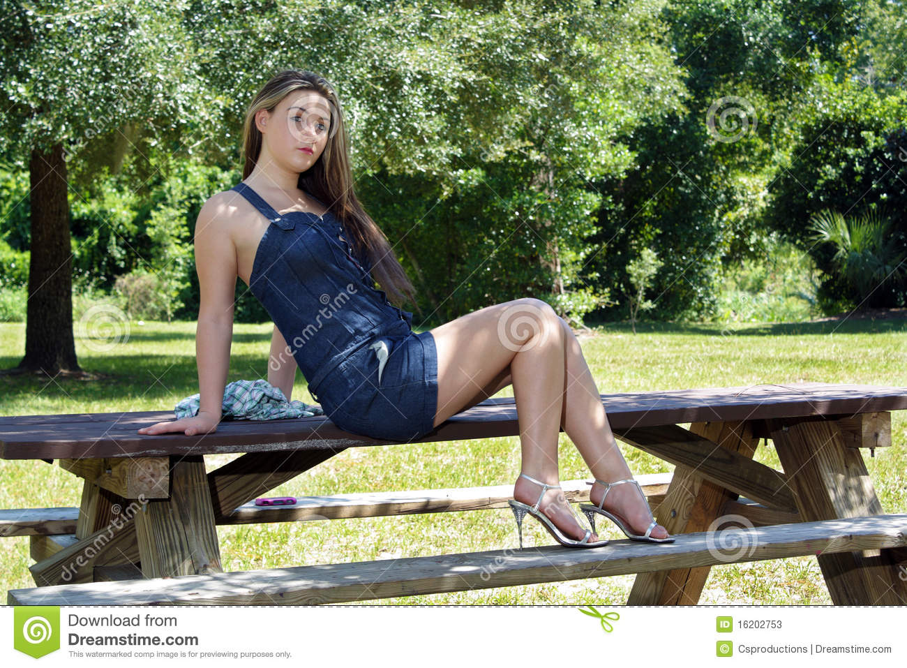Beautiful Teen Girl Outdoors (6) Stock Photos - Image ...