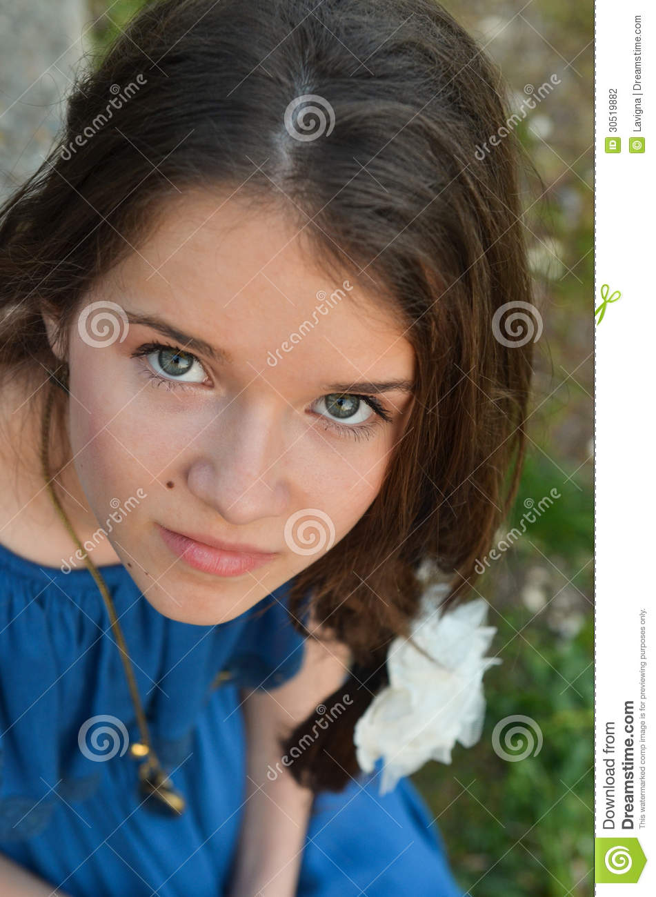 Beautiful teen girl stock photo. Image of expression ... on Beautiful Teen Girl  id=13017