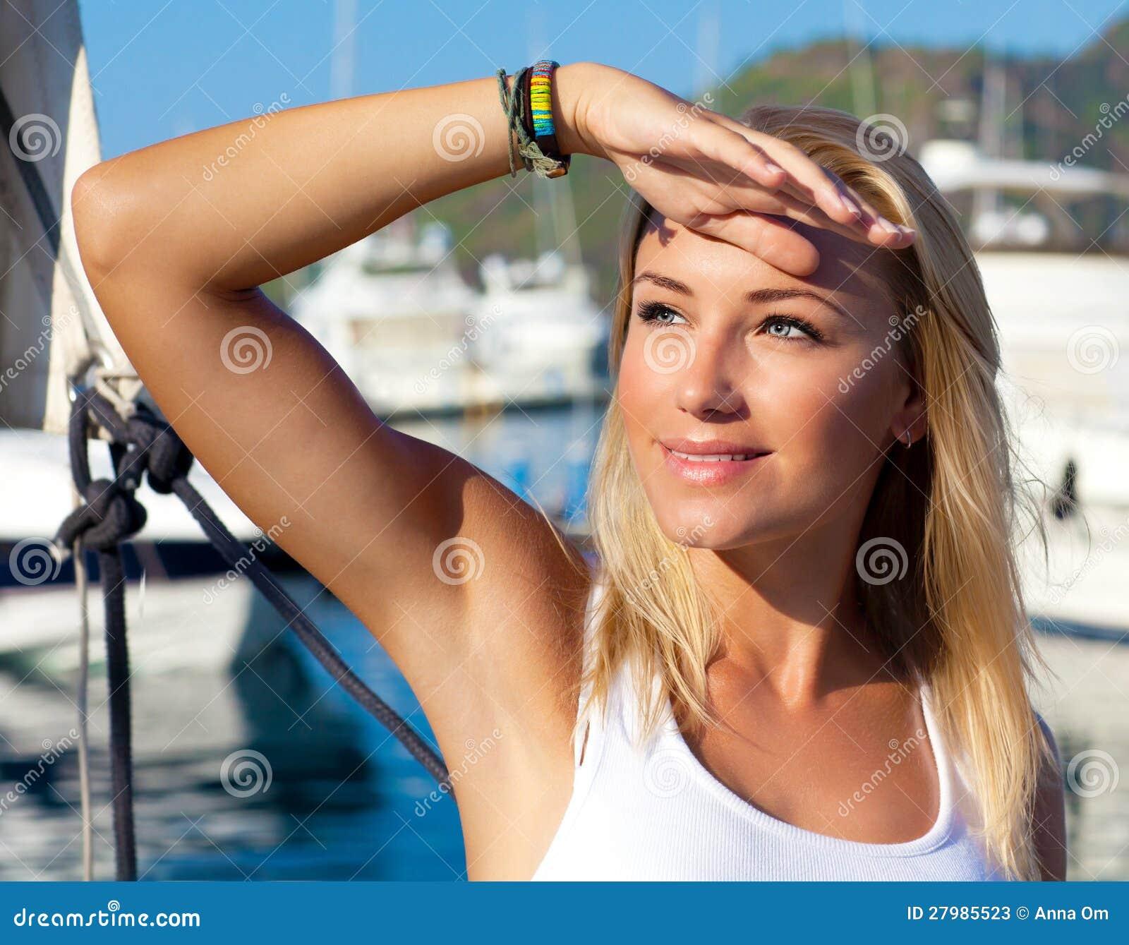 Bikini Girls Fishing Boat Playboy Playmates My Private