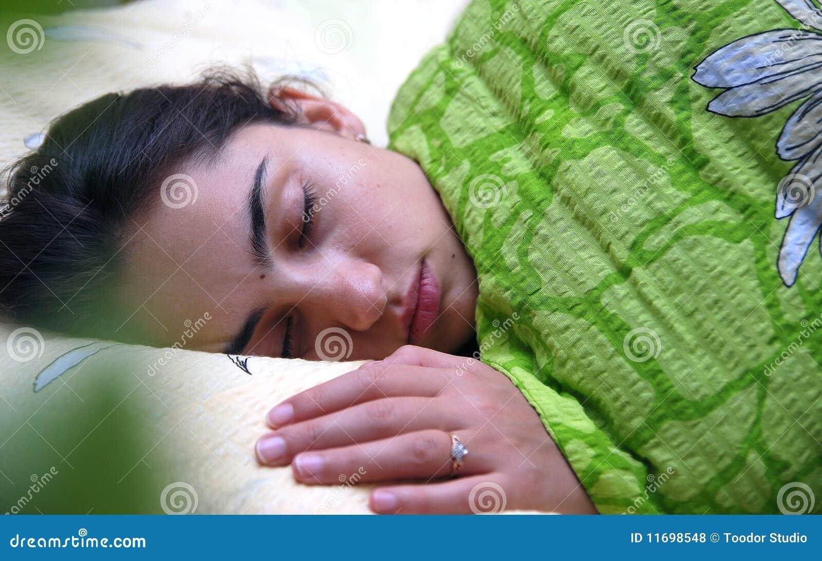 Sleeping Gorgeous Sleeping Teen 48