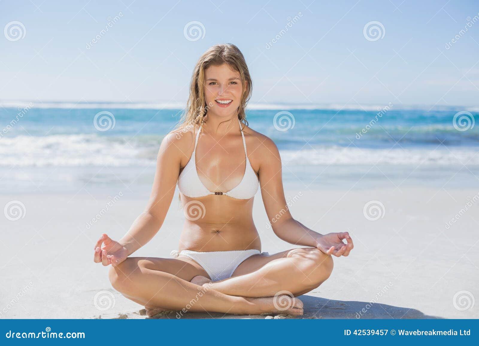 Bikini Sitting 65