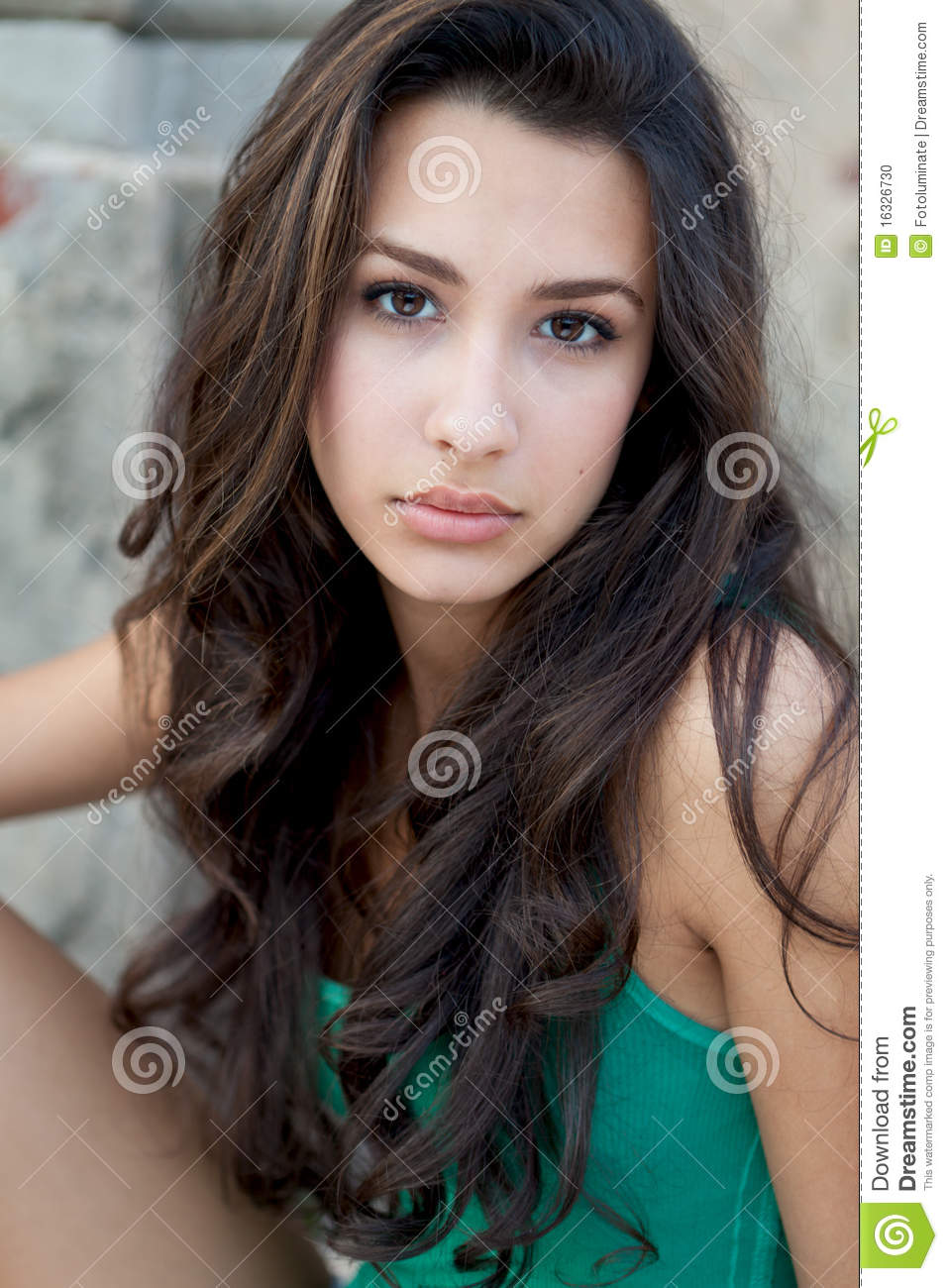 Beautiful Teenager Stock Photo. Image Of Eastern, Pretty