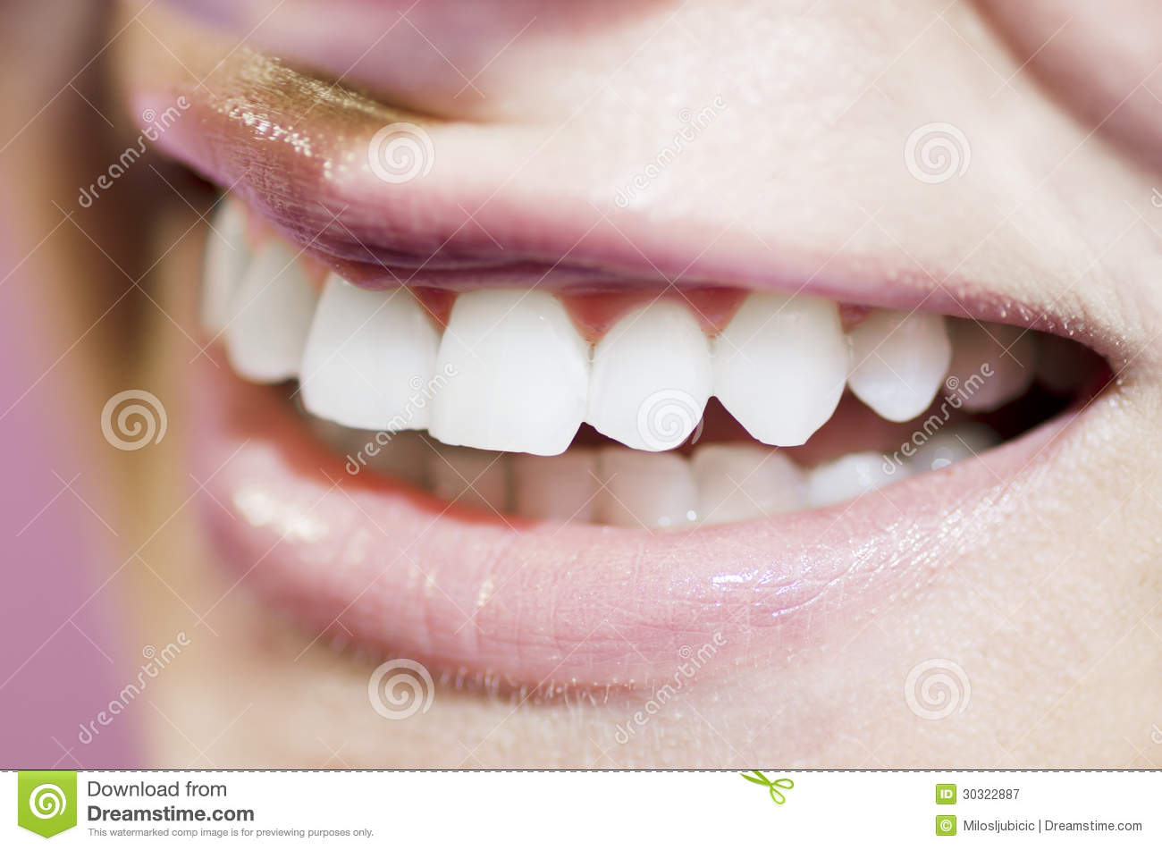 beautiful teeth smile royalty free stock photography