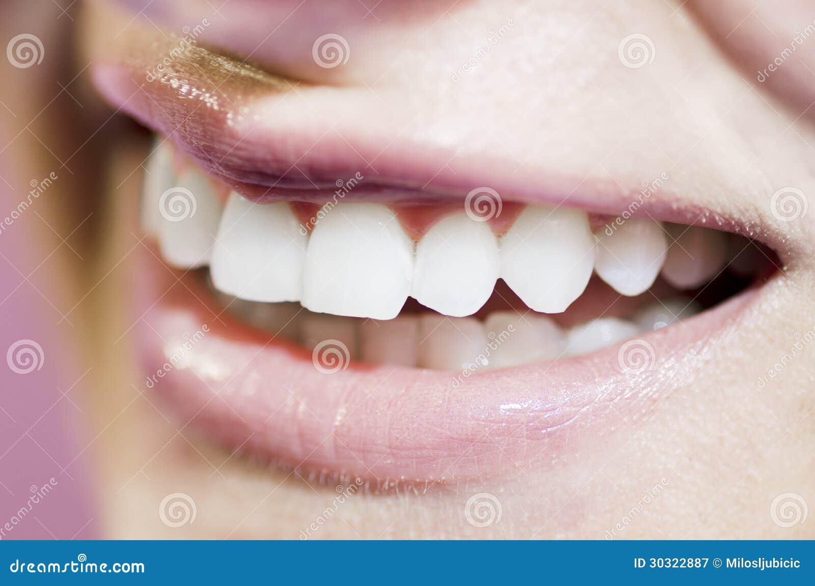 beautiful teeth smile royalty free stock photography