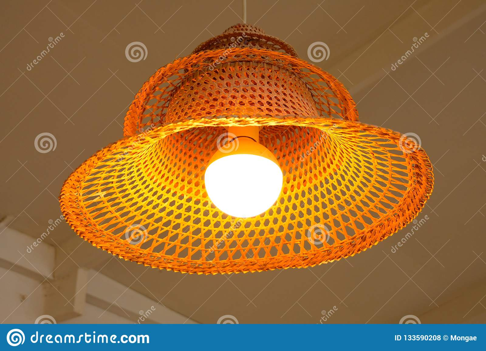 Beautiful thai light gold in ayutthaya market beautiful gold lamp designed for interior but exclusively