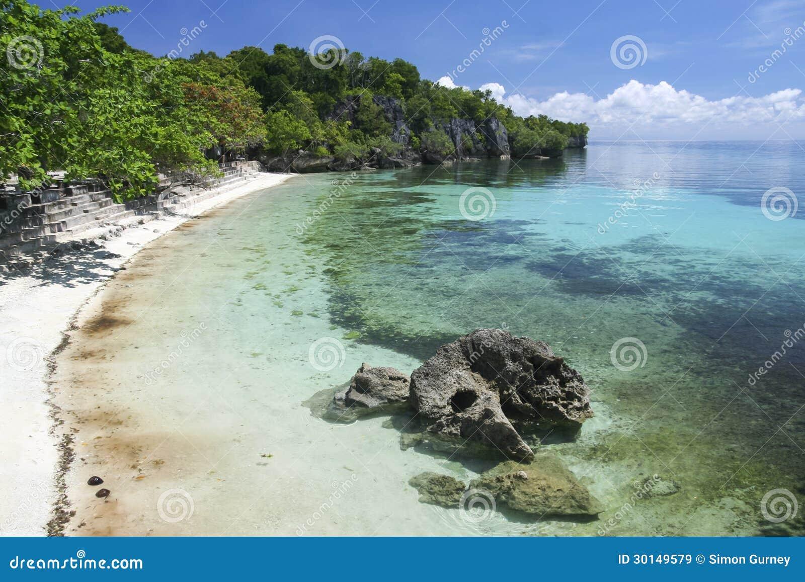 Siquijor island beach concrete terrace philippines