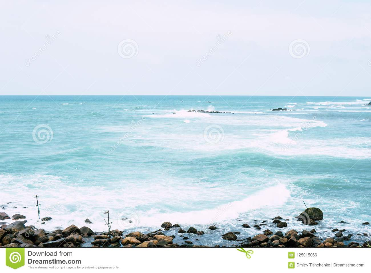 Download Beautiful Tropical Island Beach Landscape Fishing Boat Stock Photo Image Of Indian
