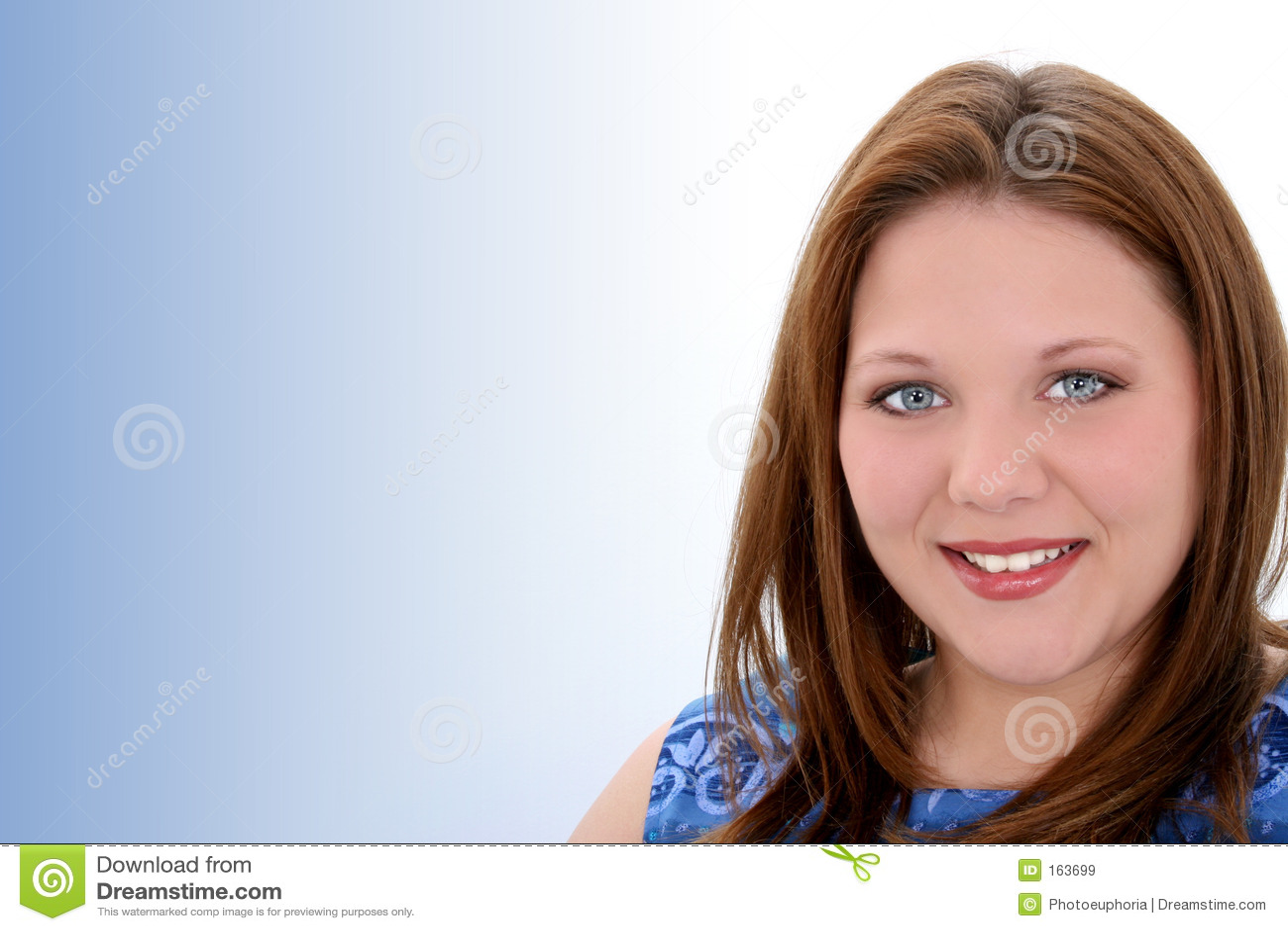 Beautiful Twenty Year Old Young Woman