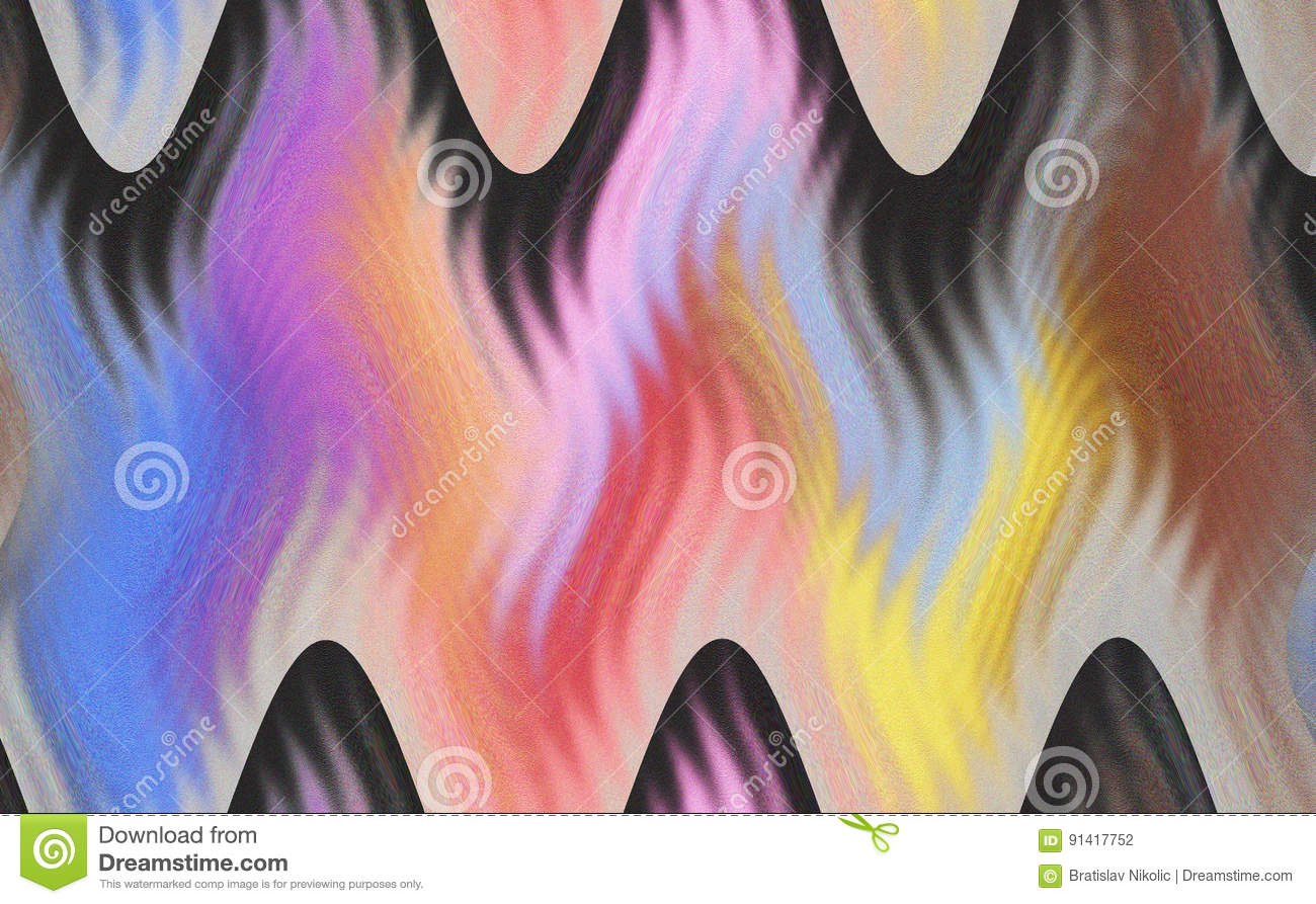 Beautiful unique abstract multicolored texture