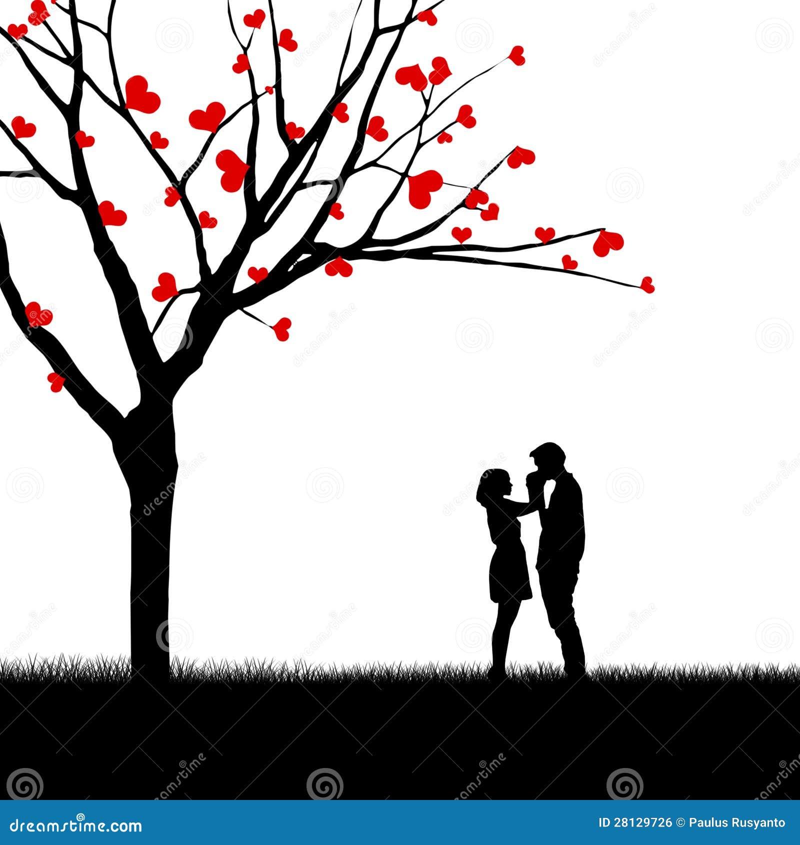 b8c3a864f Beautiful Valentine Card Couple Design Stock Illustration ...