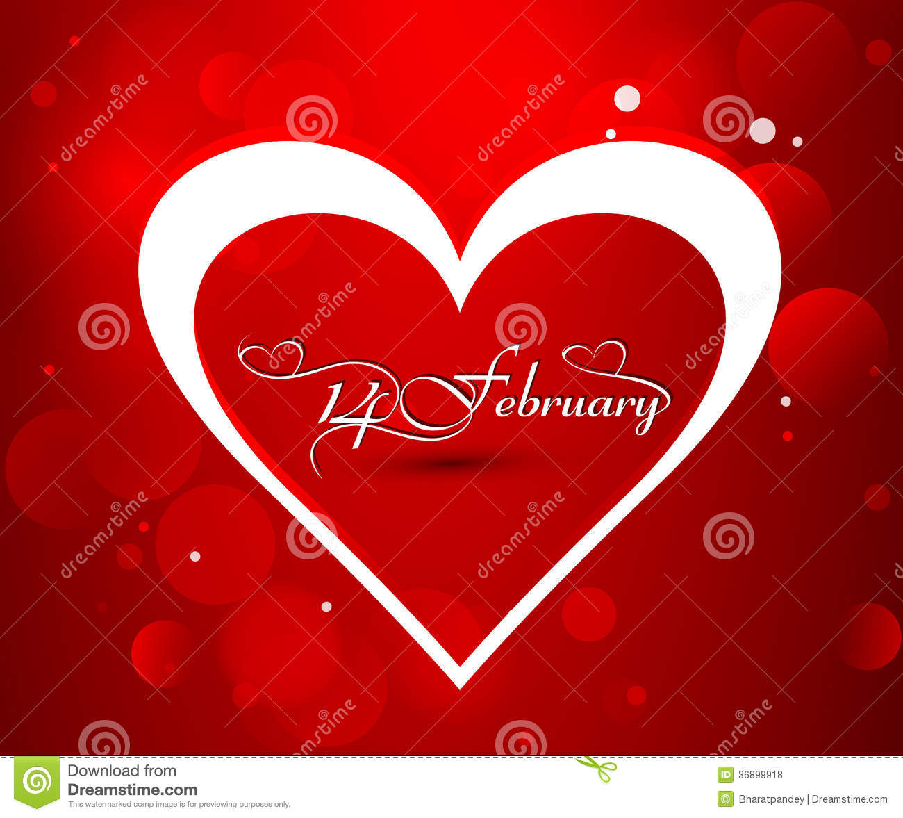 Beautiful Valentines Day Card With Heart 14 February Royalty Free – Beautiful Valentine Day Cards