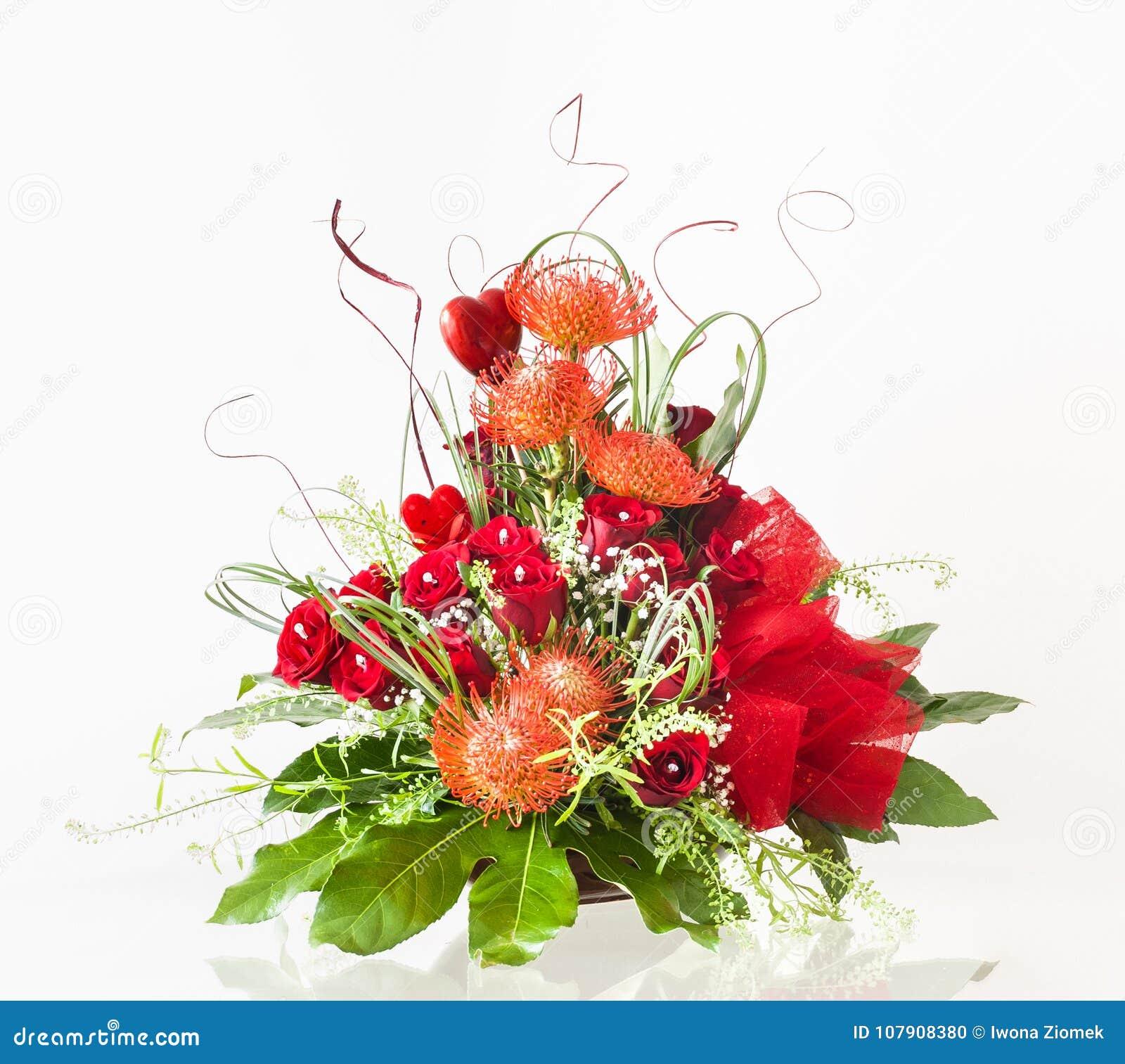 Beautiful valentines day flower arrangement stock photo image of beautiful valentines day flower arrangement izmirmasajfo