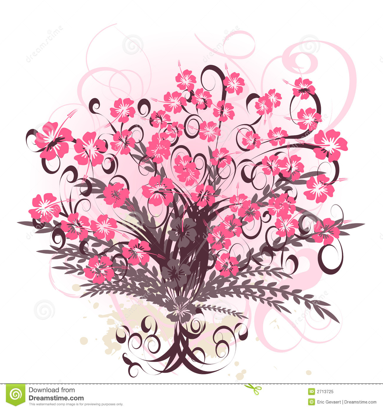Beautiful & Flowers Vector Images (over )