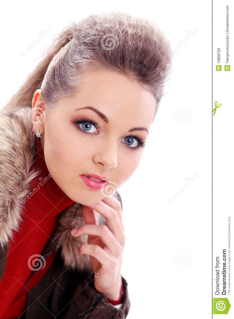 Very Cute Asian Girl: Beautiful And Very Cute Lady Stock Image