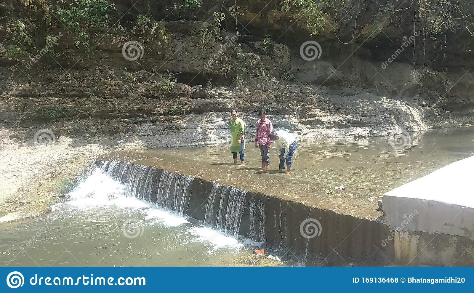A Beautiful View Of Seasonal River In Dehradun Uttarakhand India Editorial Stock Photo Image Of View Water 169136468