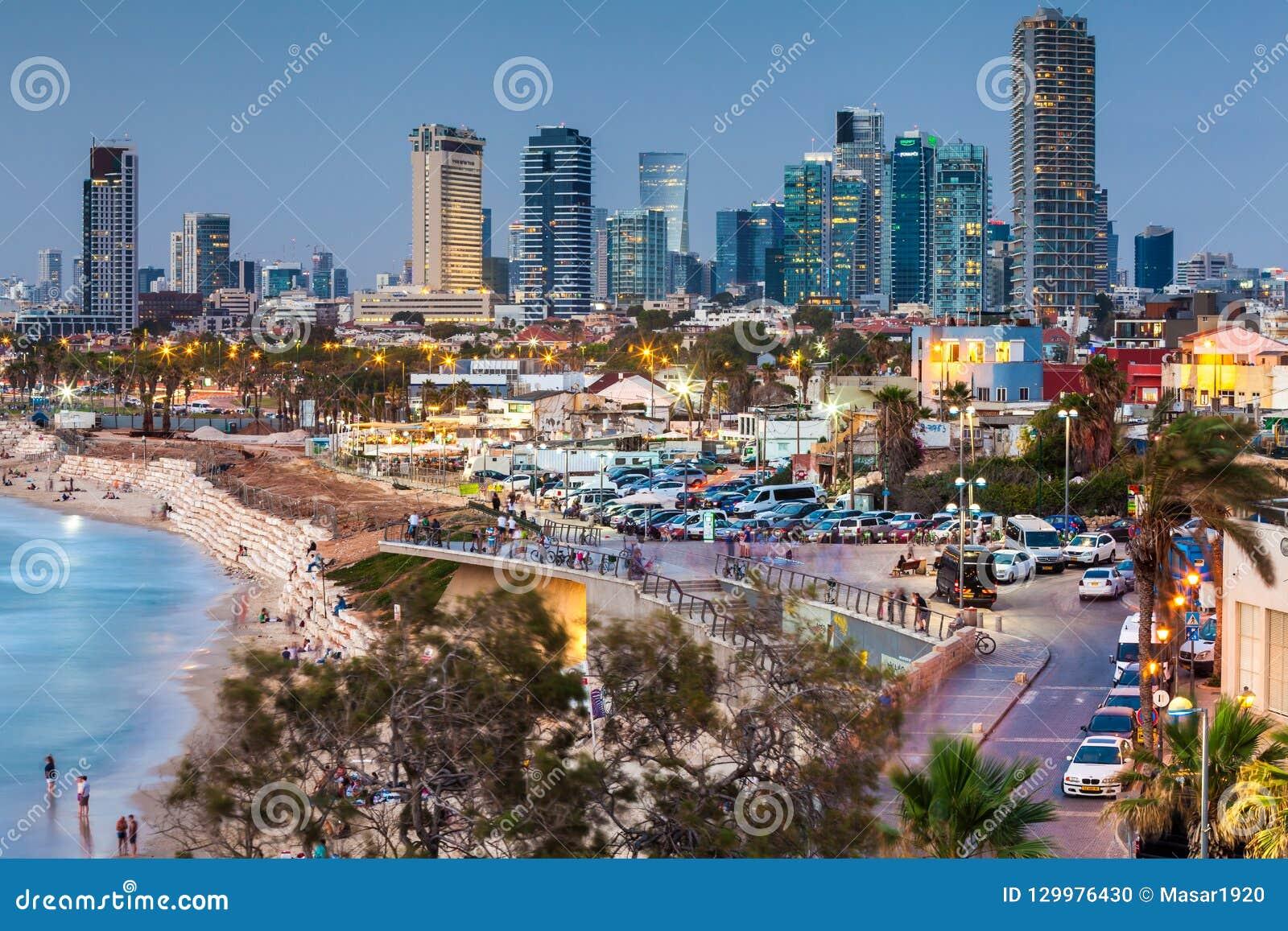 beautiful view of the tel aviv editorial image image of palm rh dreamstime com beautiful hotels in tel aviv beautiful boy tel aviv