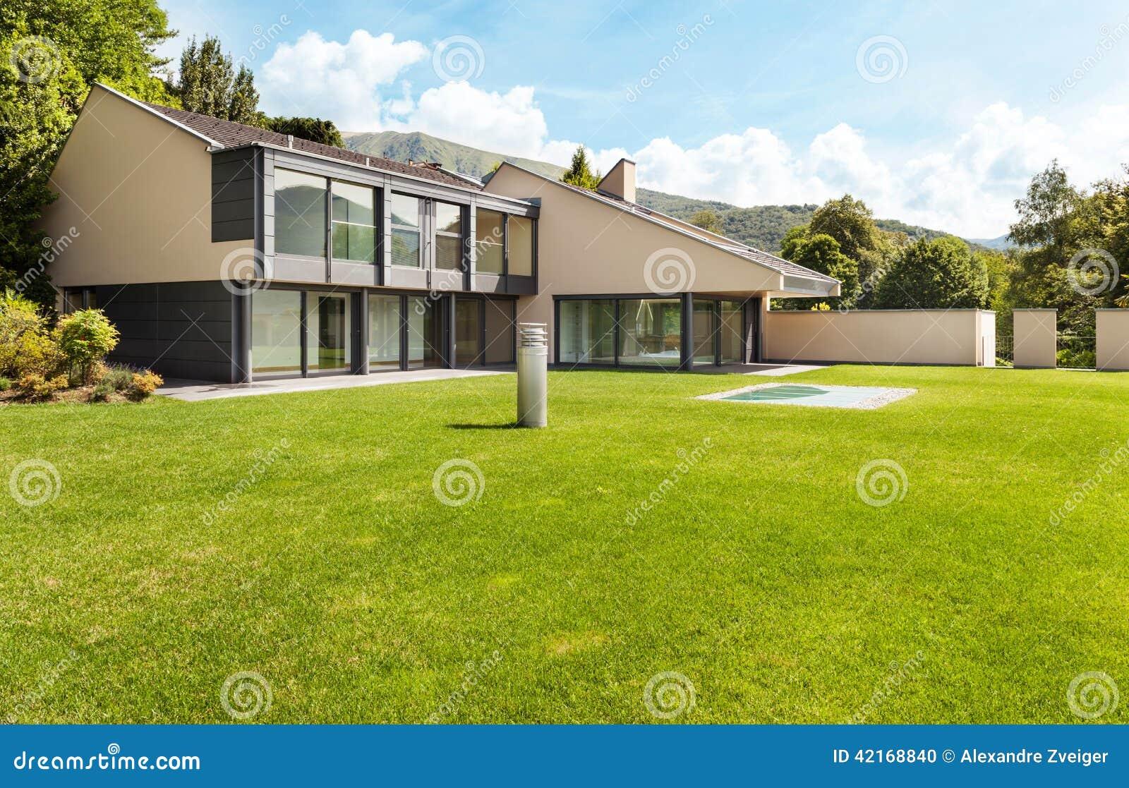 Beautiful villa, outdoor
