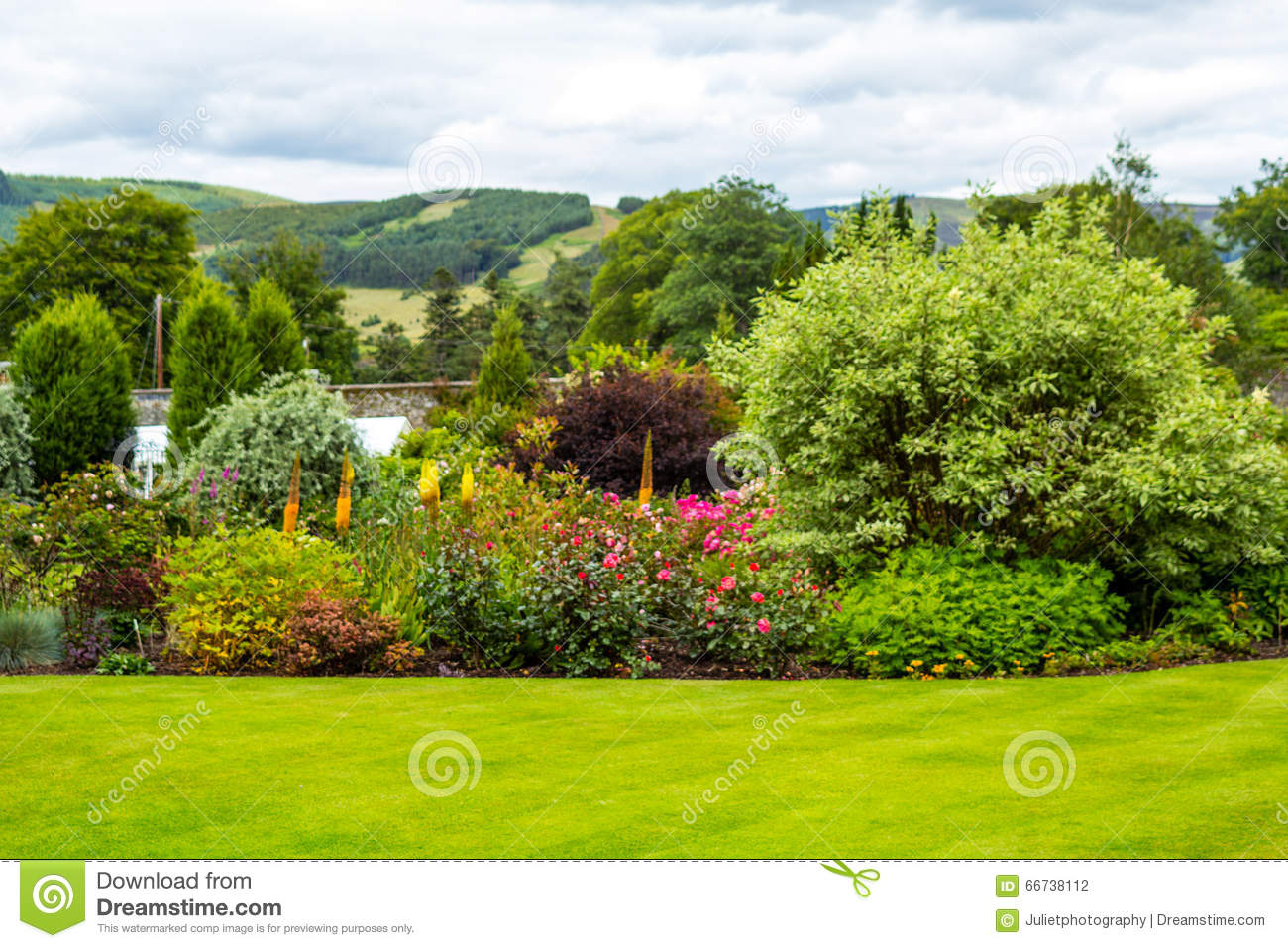 Beautiful walled victorian garden with variety of flowers and trees beautiful walled victorian garden with variety of flowers and trees izmirmasajfo