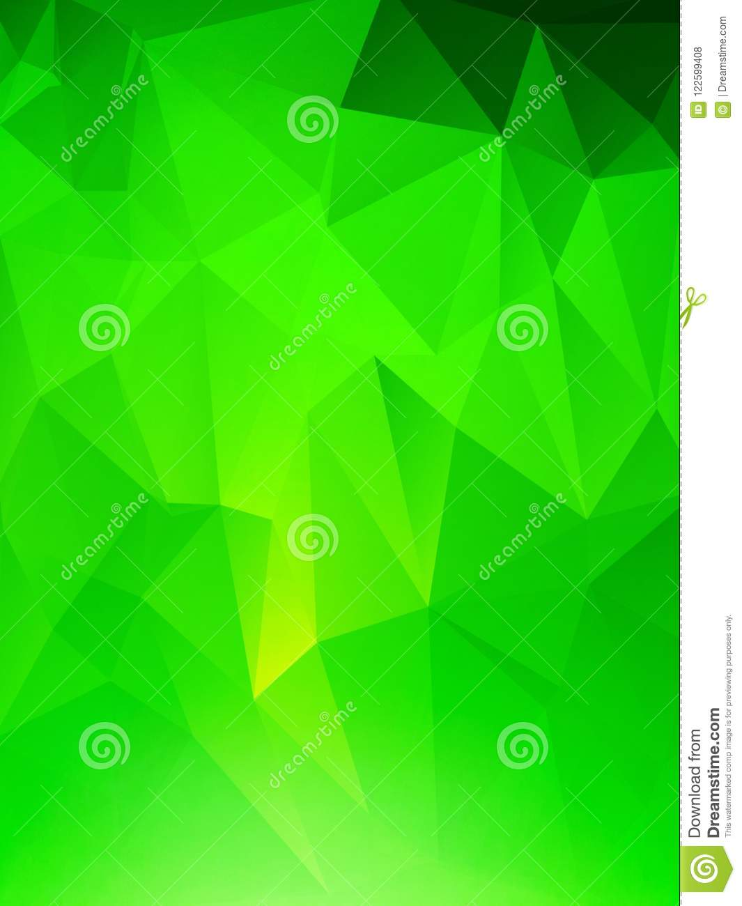 Beautiful wallpaper, background, light and dark, green ombre, triangles, abstract and colours
