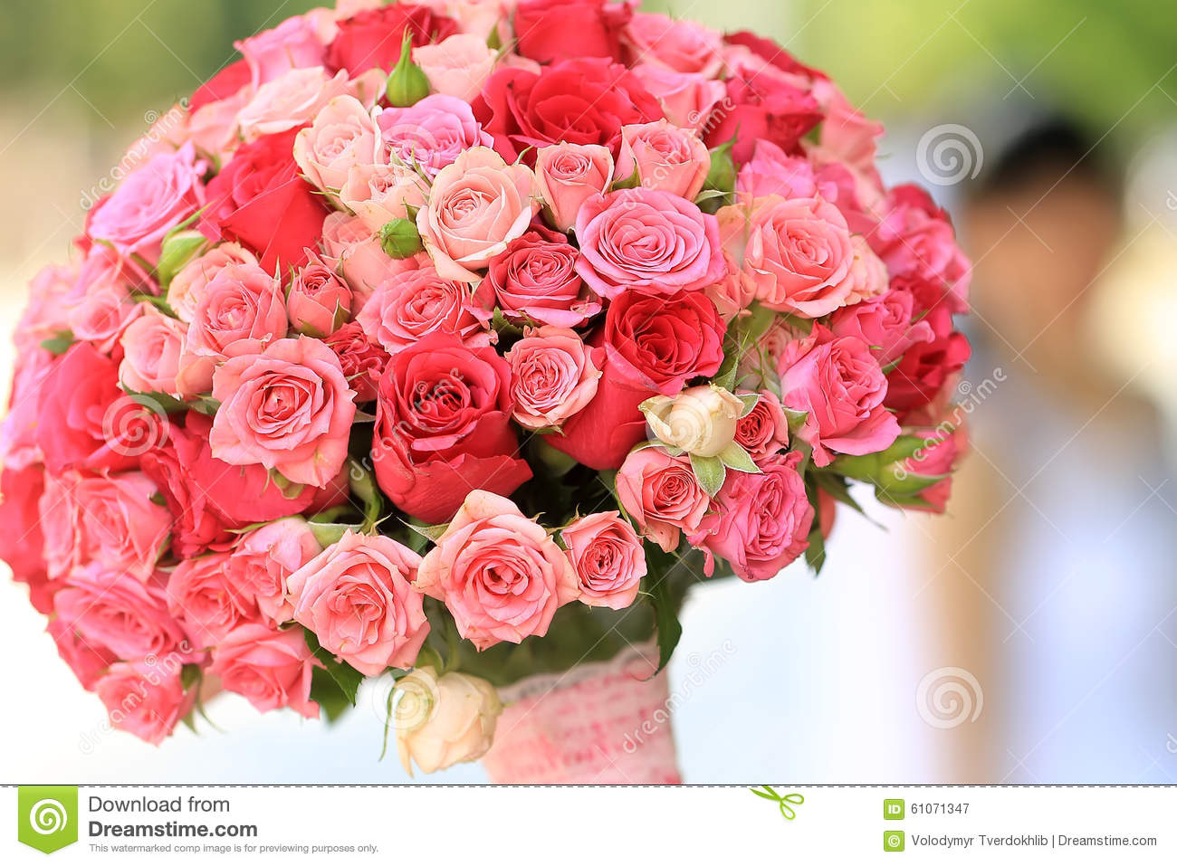 Beautiful Wedding Bouquet Stock Image Image Of Natural 61071347