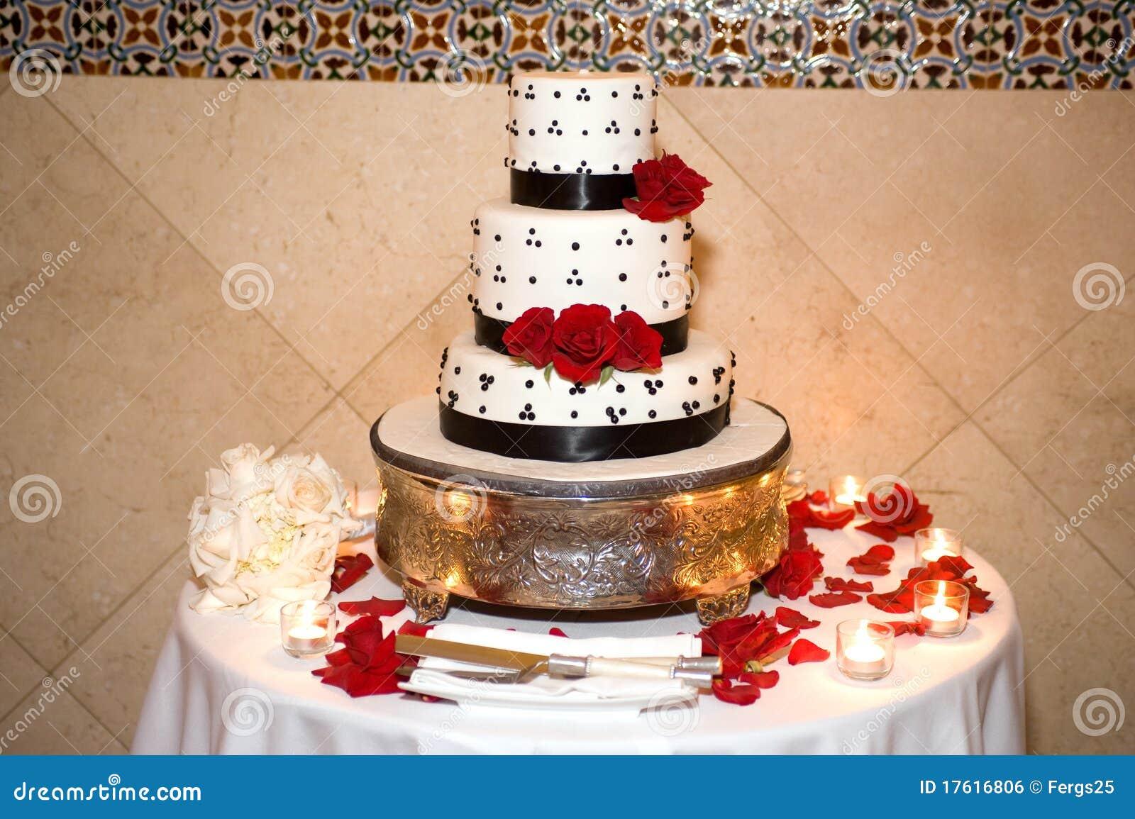 Beautiful Wedding Cake Royalty Free Stock Image Image