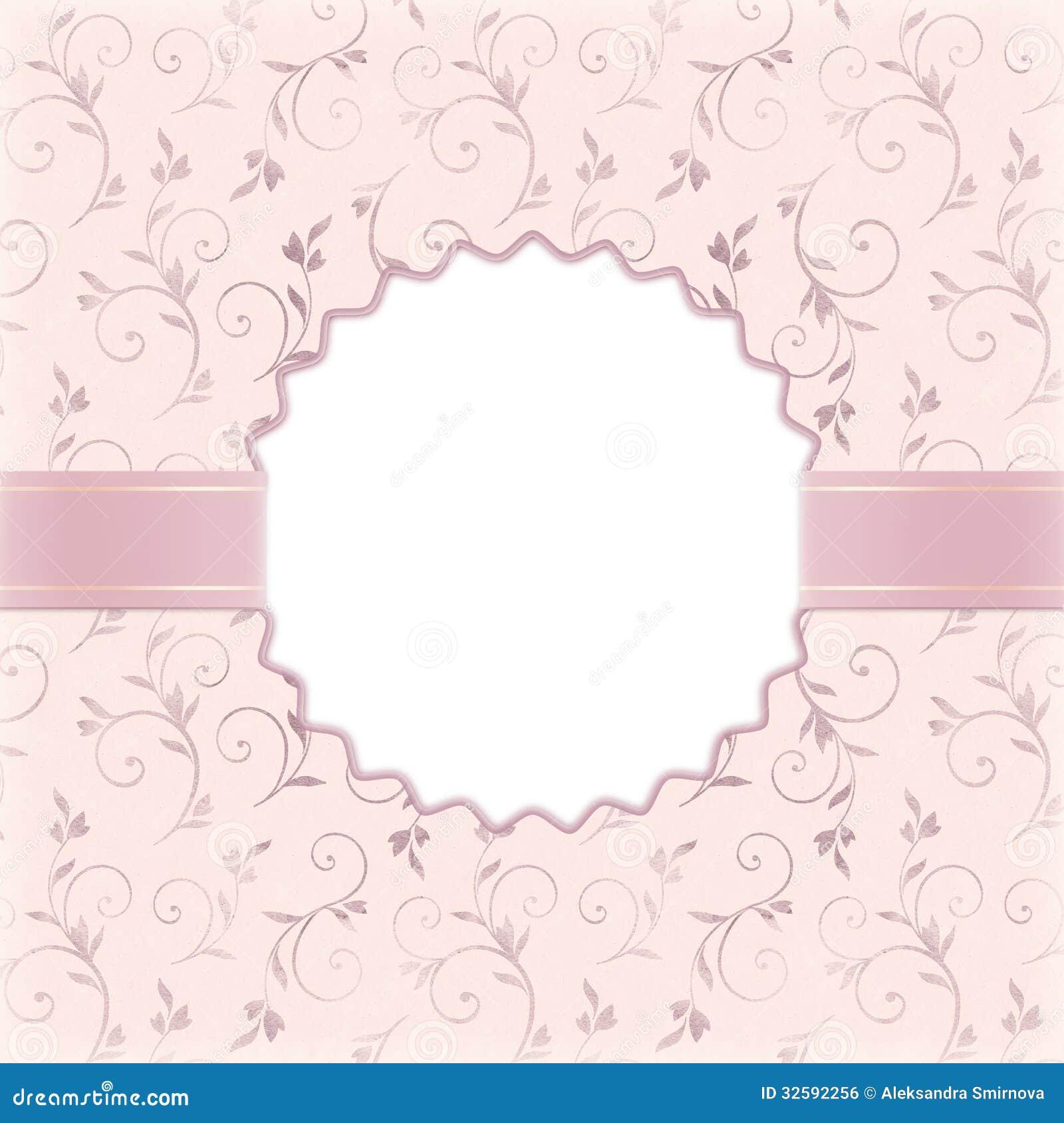 Beautiful wedding invitation royalty free stock image image
