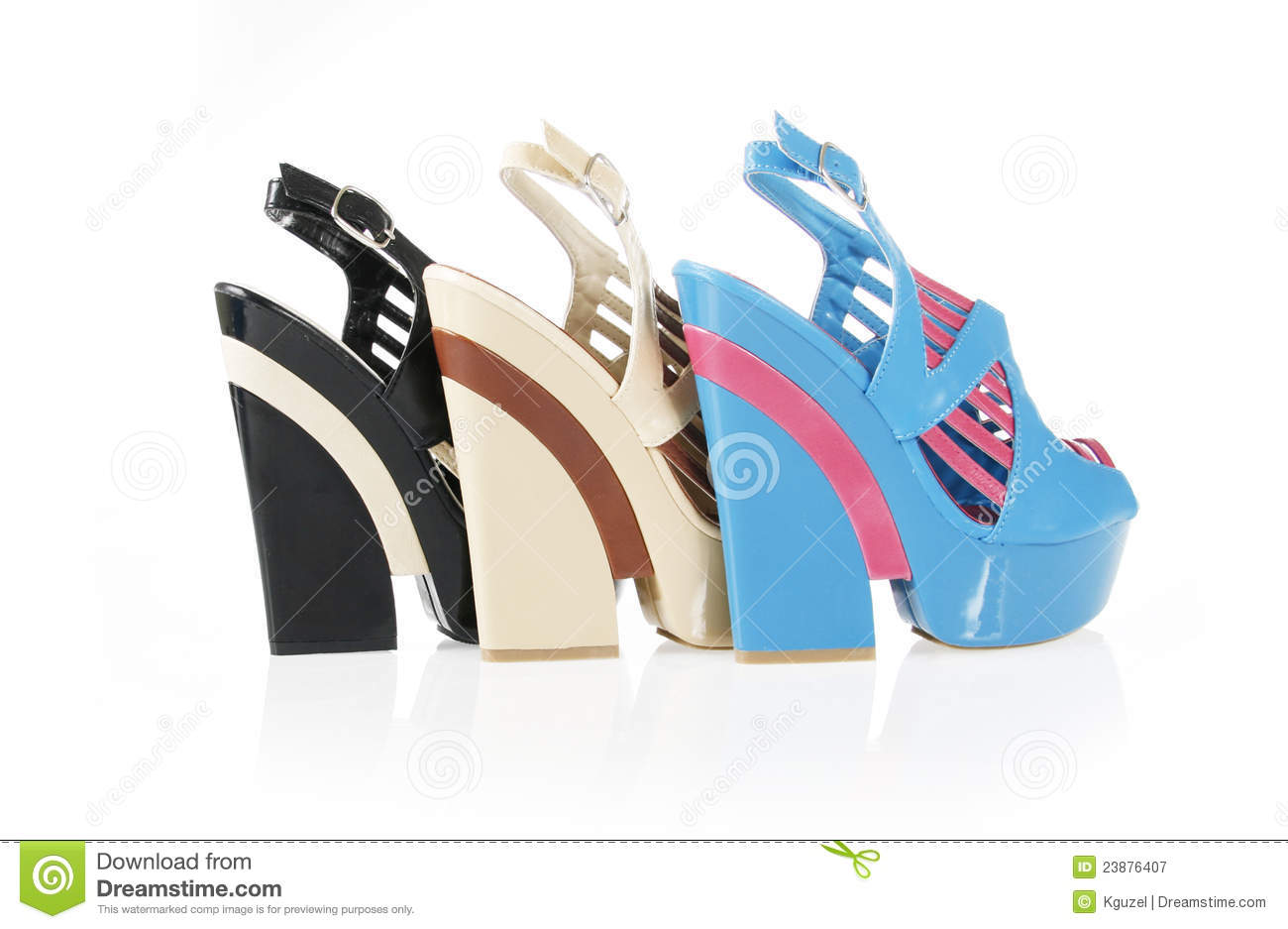 Beautiful wedge shoes collections