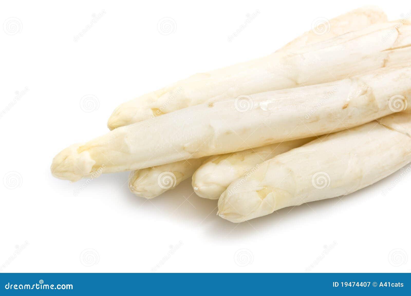 Download Beautiful White Jumbo Asparagus Close Up Shoot Stock Image - Image of freshness, stem: 19474407