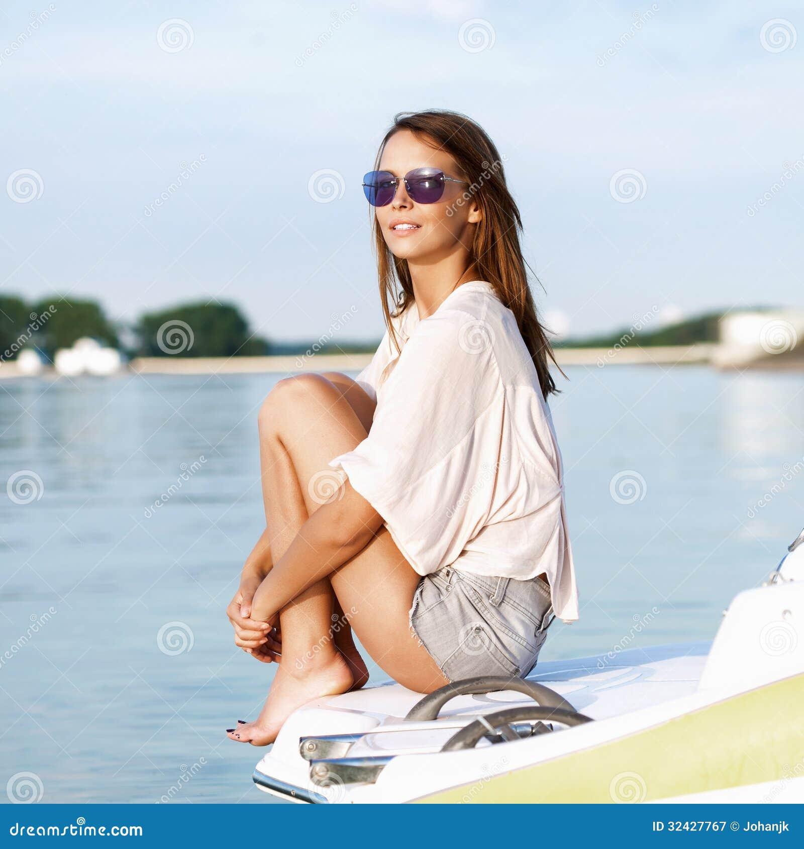 Fashion Boat Girl Illustrations