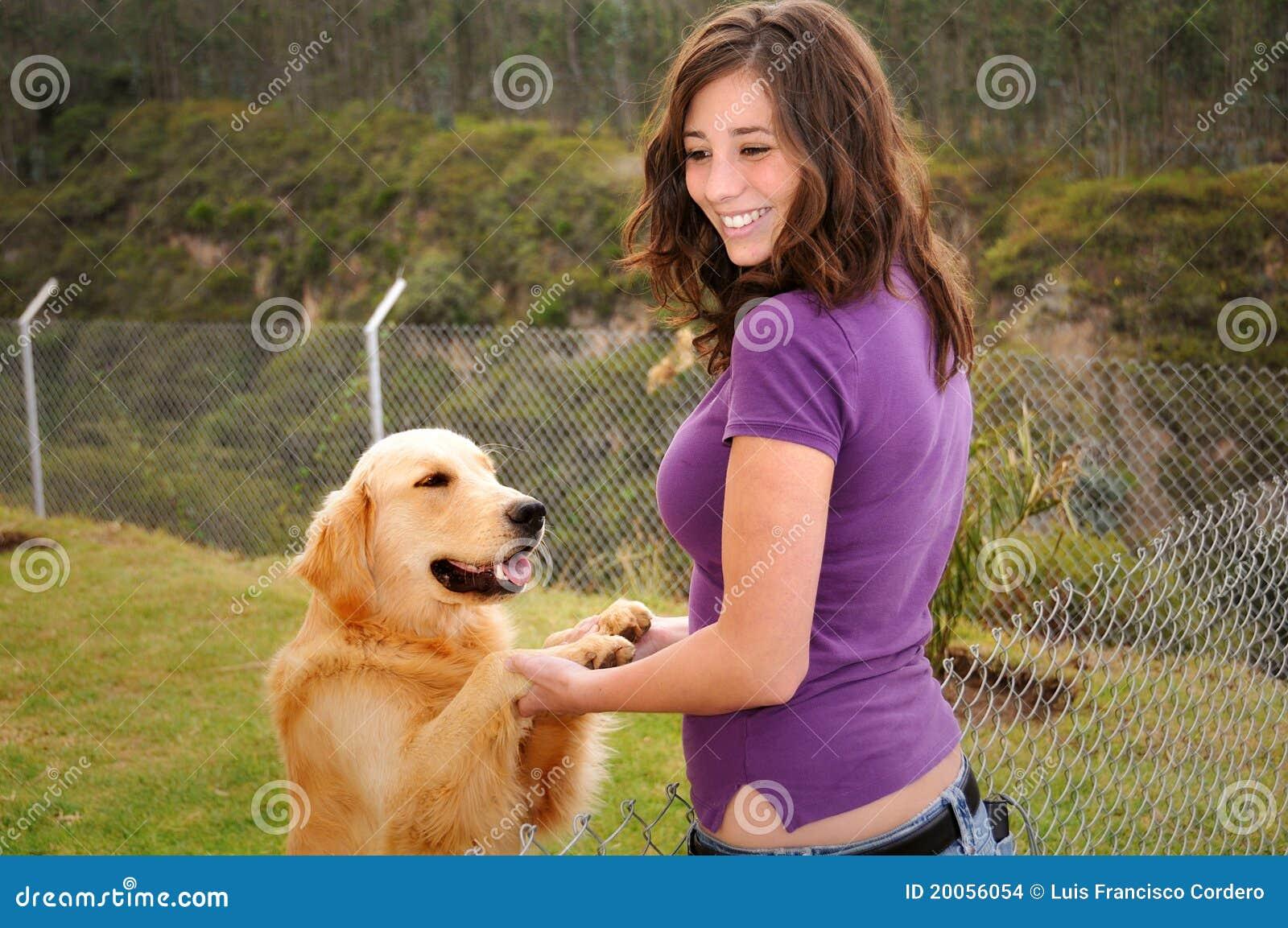 Frauen ficken mit hunden