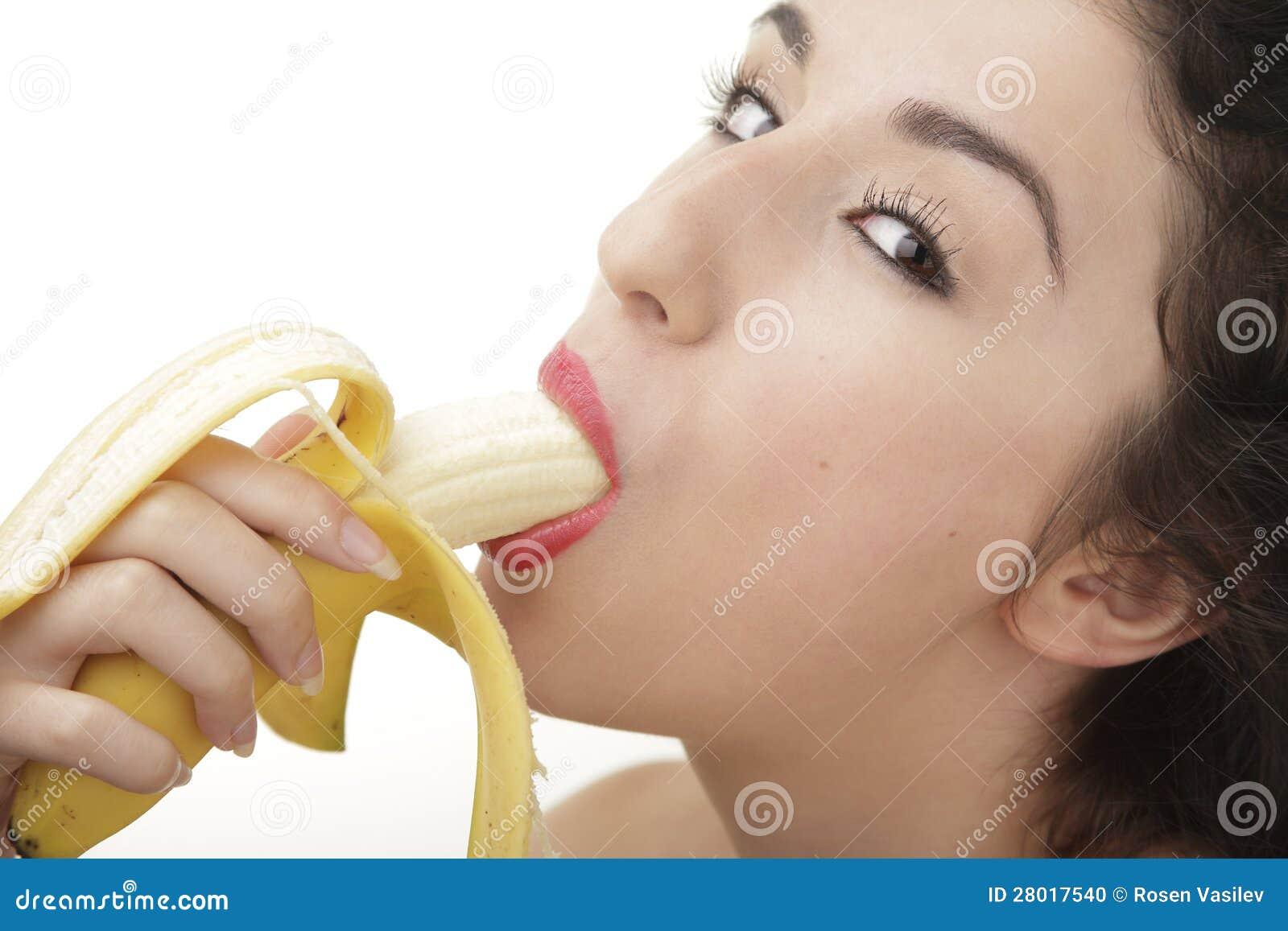 Sexy Sucking Banana