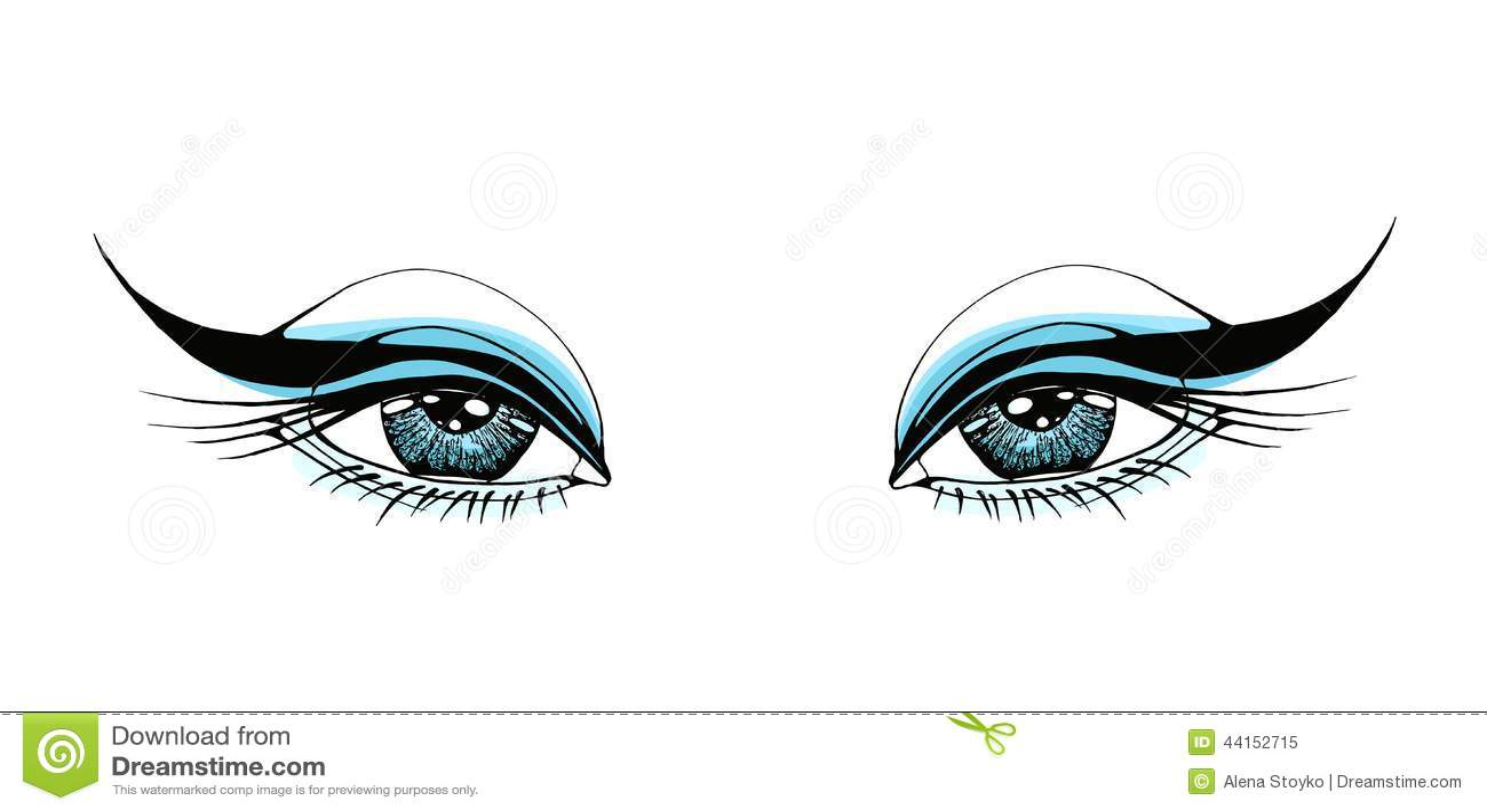 beautiful woman eyes stock vector illustration of eyeball vector graphic eyeball vector illustration