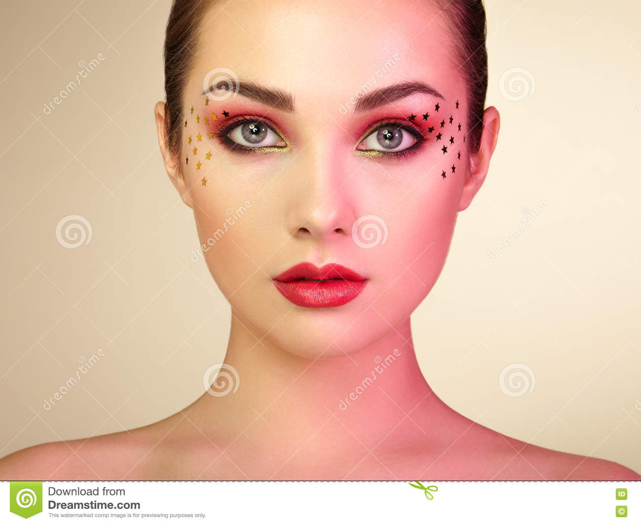 Beautiful Woman Face Stock Image. Image Of Lady, Female