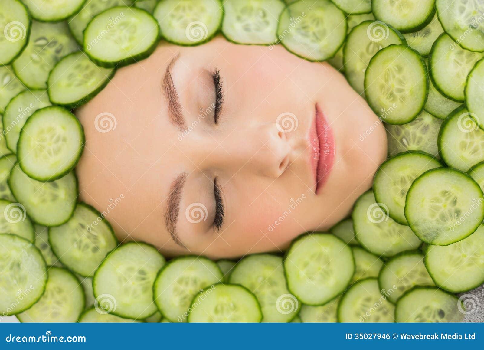 But money cucumber facial masks she's got