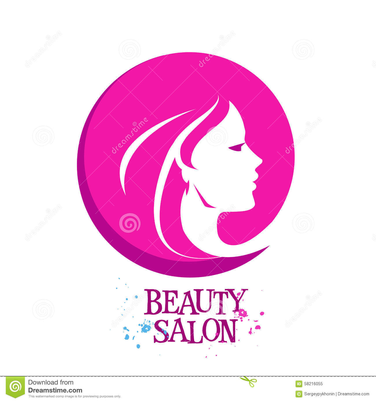 vector women silhouette beauty female logo lady icon