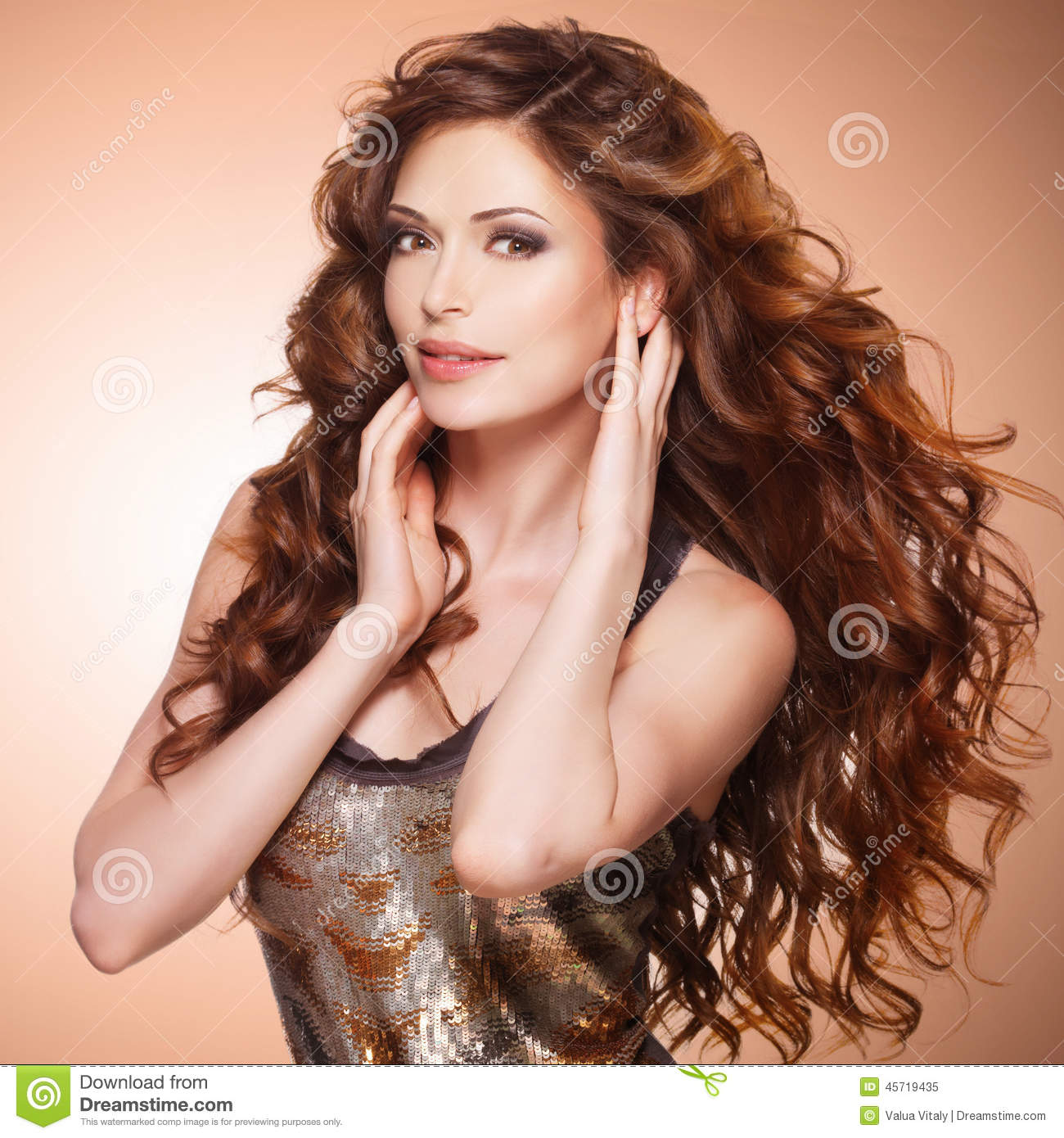 Image result for stock photo brown hair