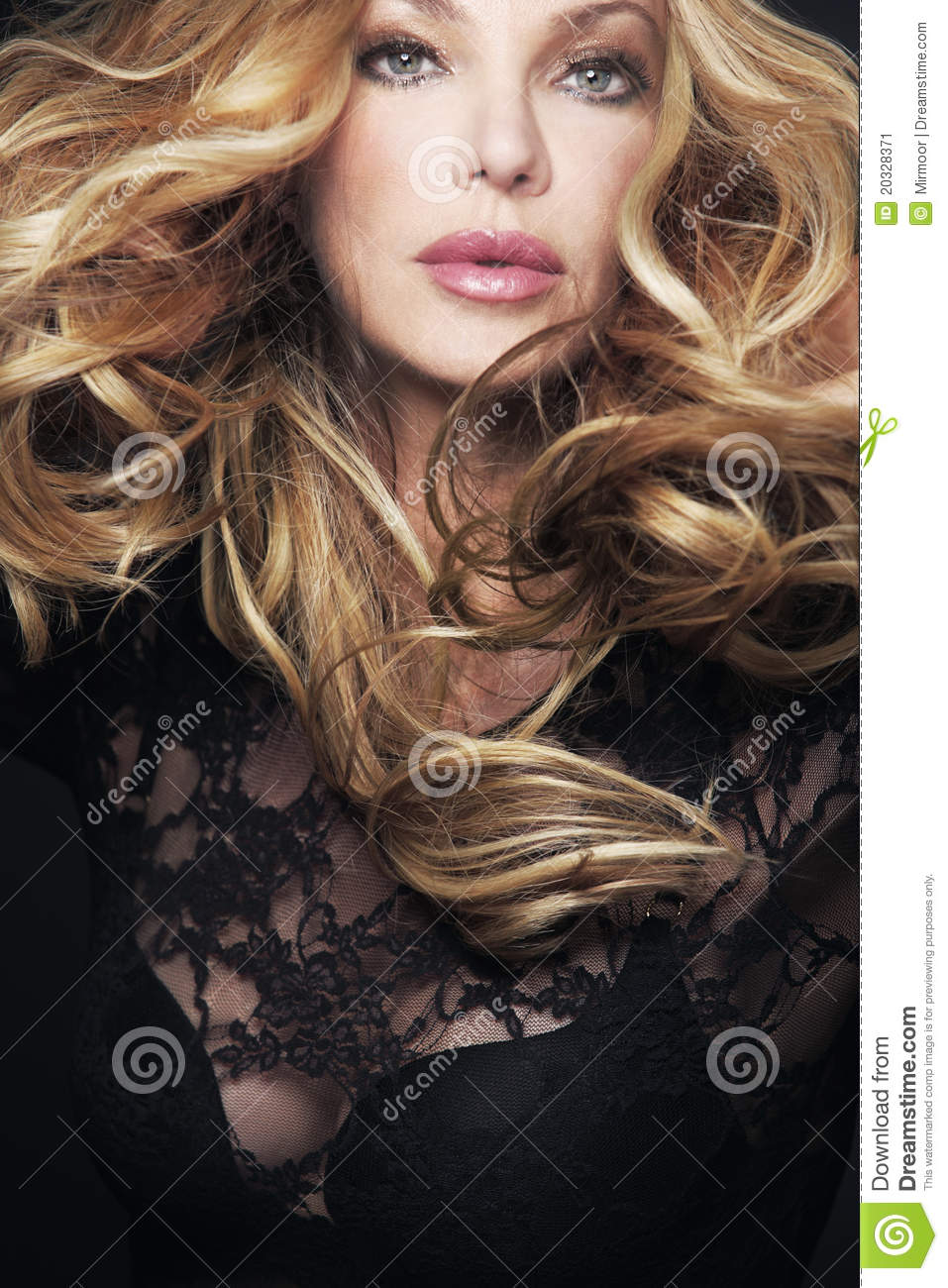 wavy hair images photos and pictures crystalgraphics beautiful woman long curly hair blowing the ...