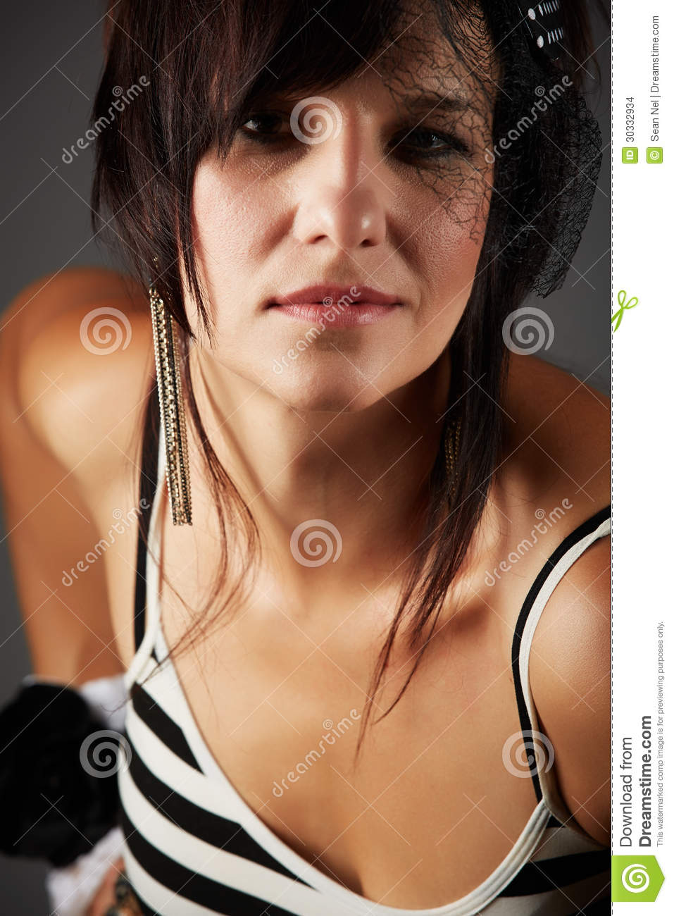 beautiful woman stock photo. image of white, shoulder - 30332934