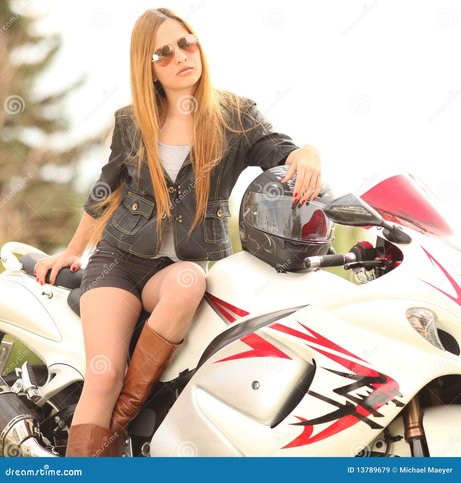 Rencontre avec femme aimant la moto