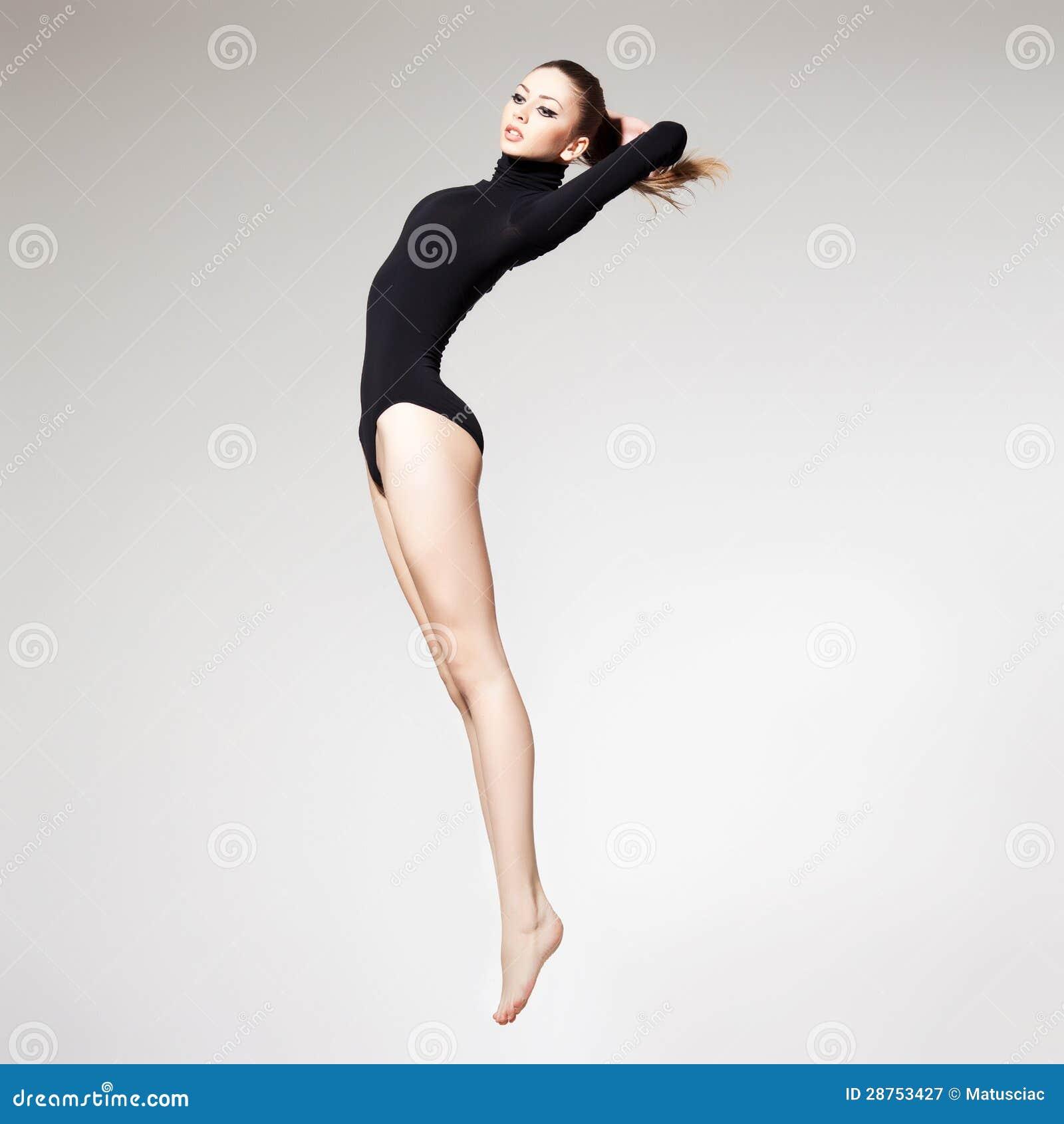 Women's Long Leg Panty Girdle Shapewear Knicker Susa Bodyforming 5551 S-XL Black